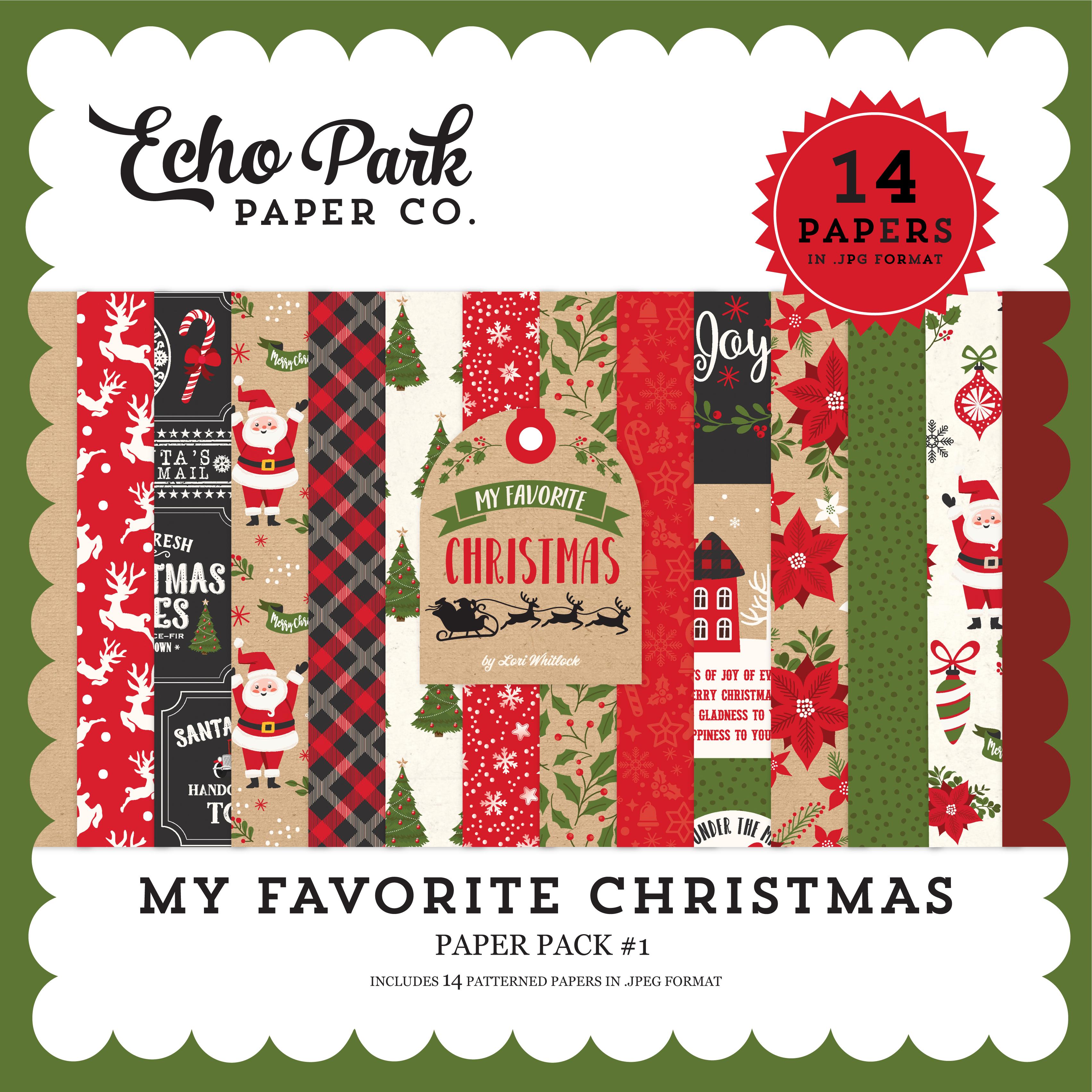 My Favorite Christmas Paper Pack #1