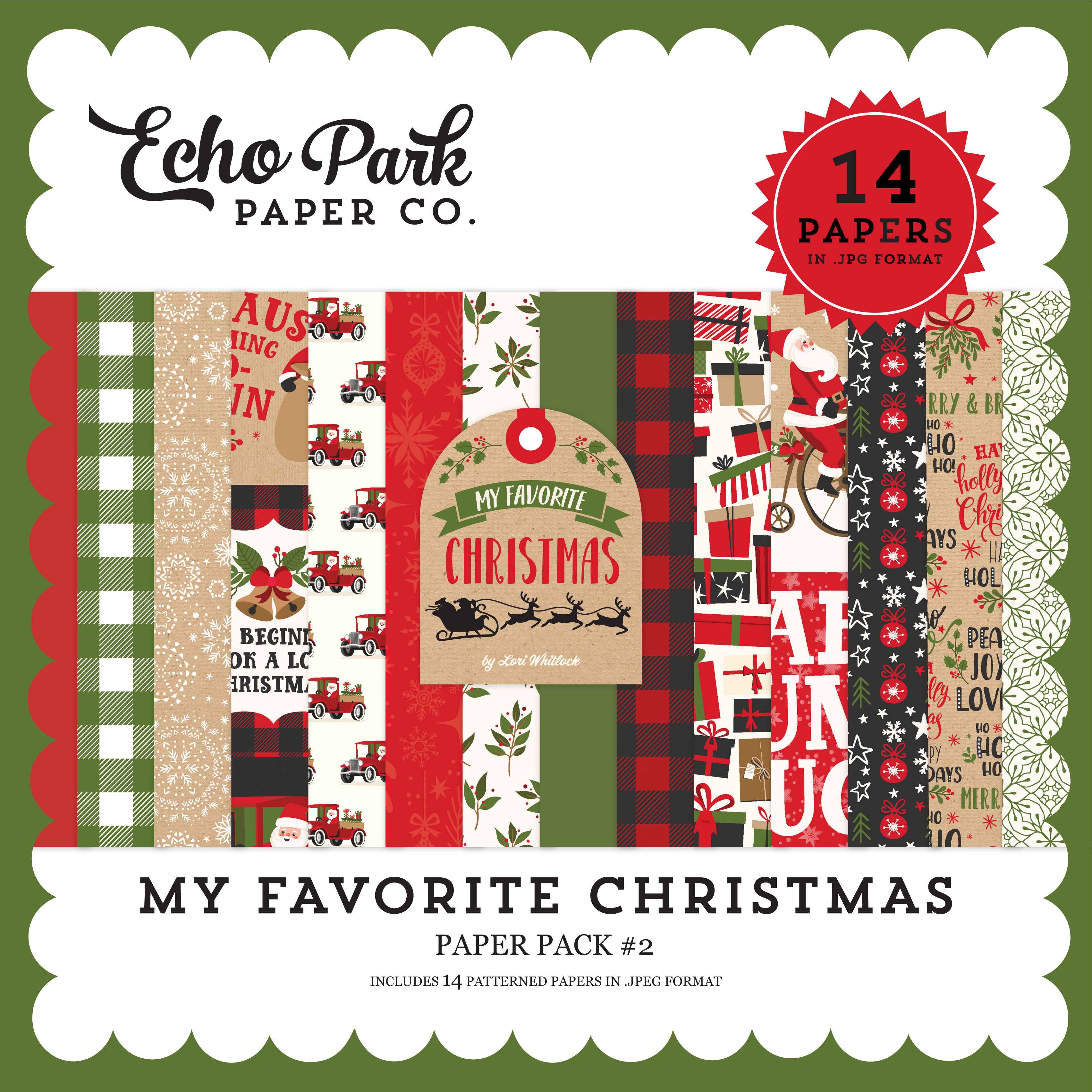My Favorite Christmas Paper Pack #2