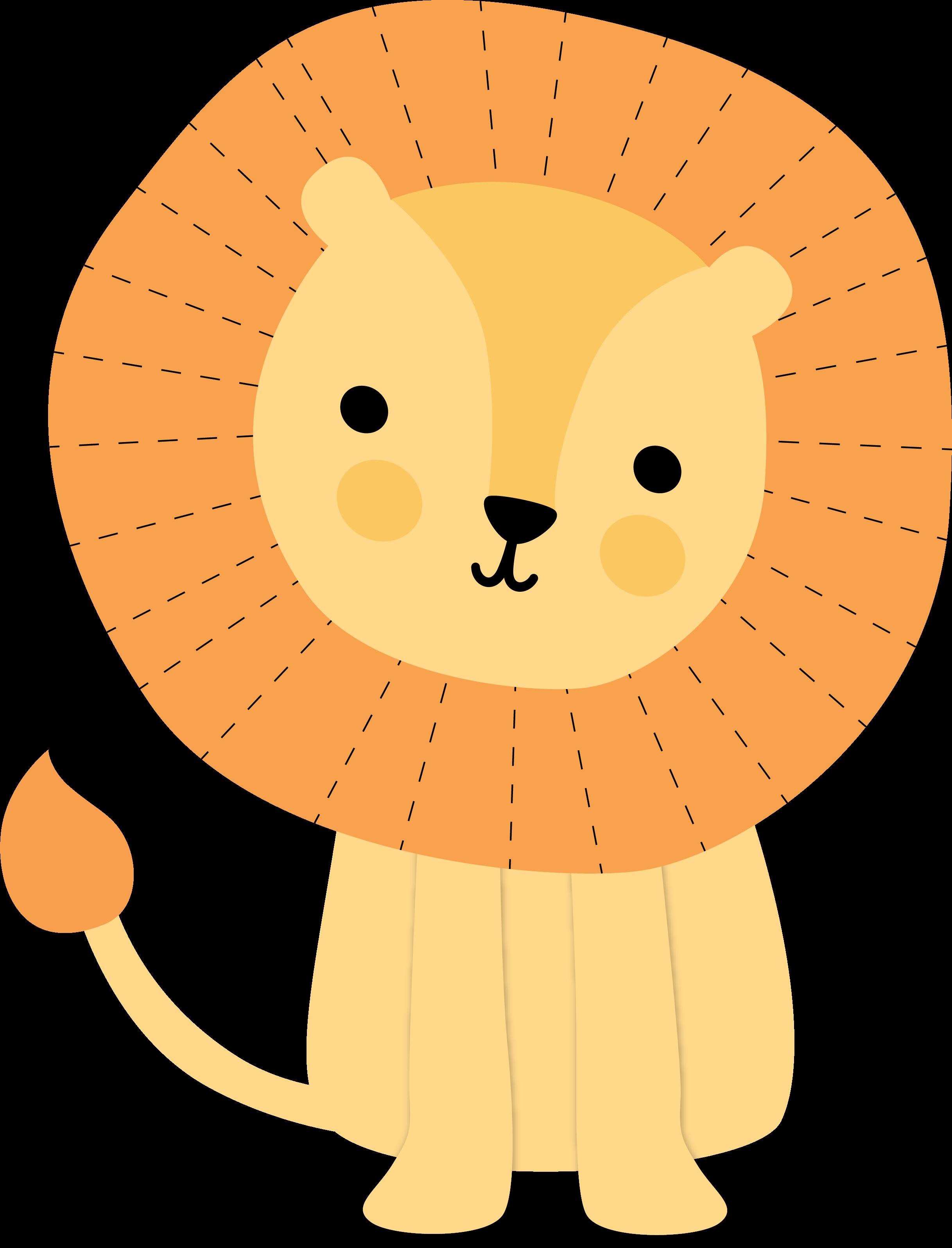 Hello Baby Boy Lion SVG Cut File
