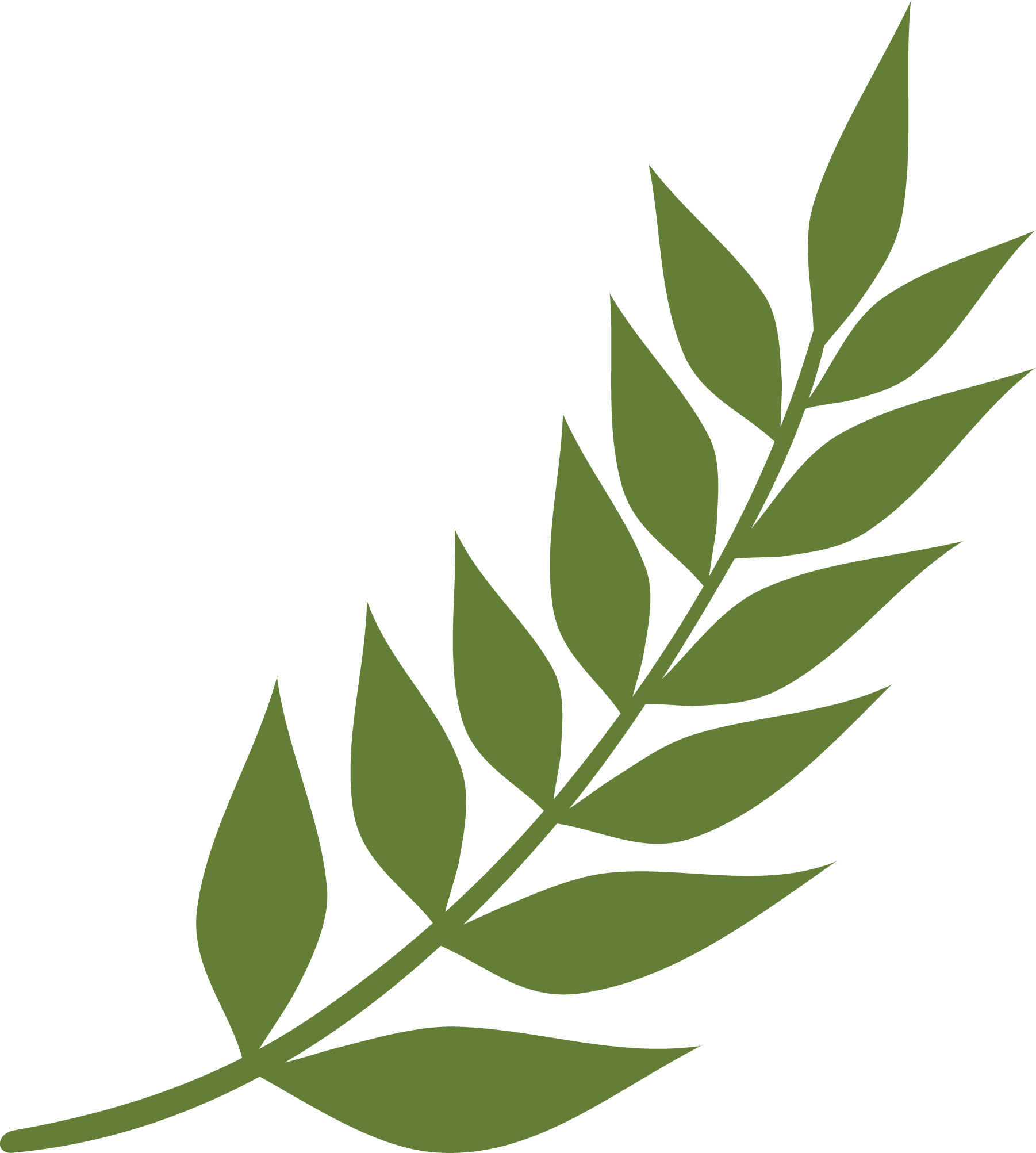 My Favorite Fall Fern SVG Cut File