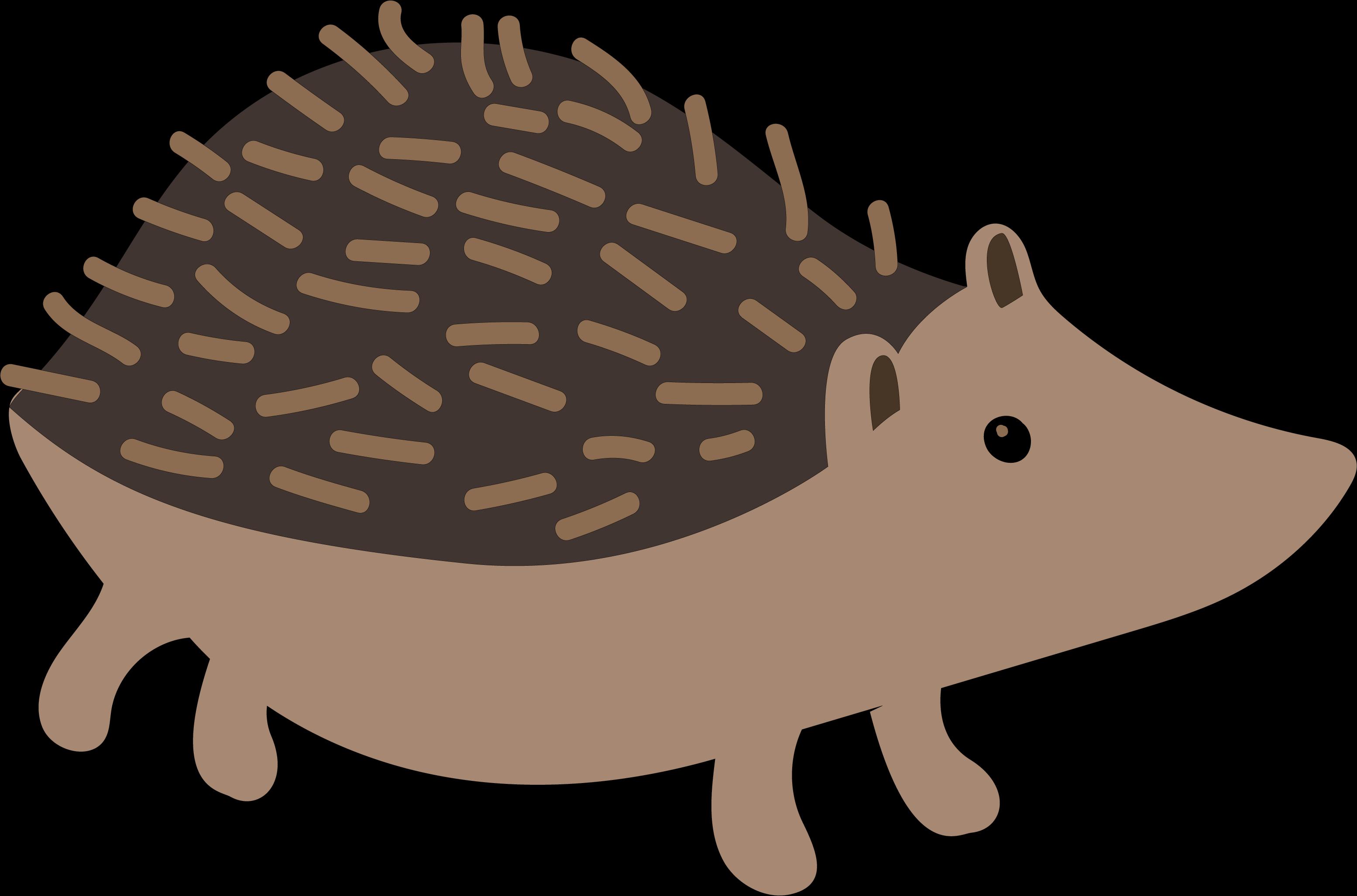 My Favorite Fall Hedgehog SVG Cut File