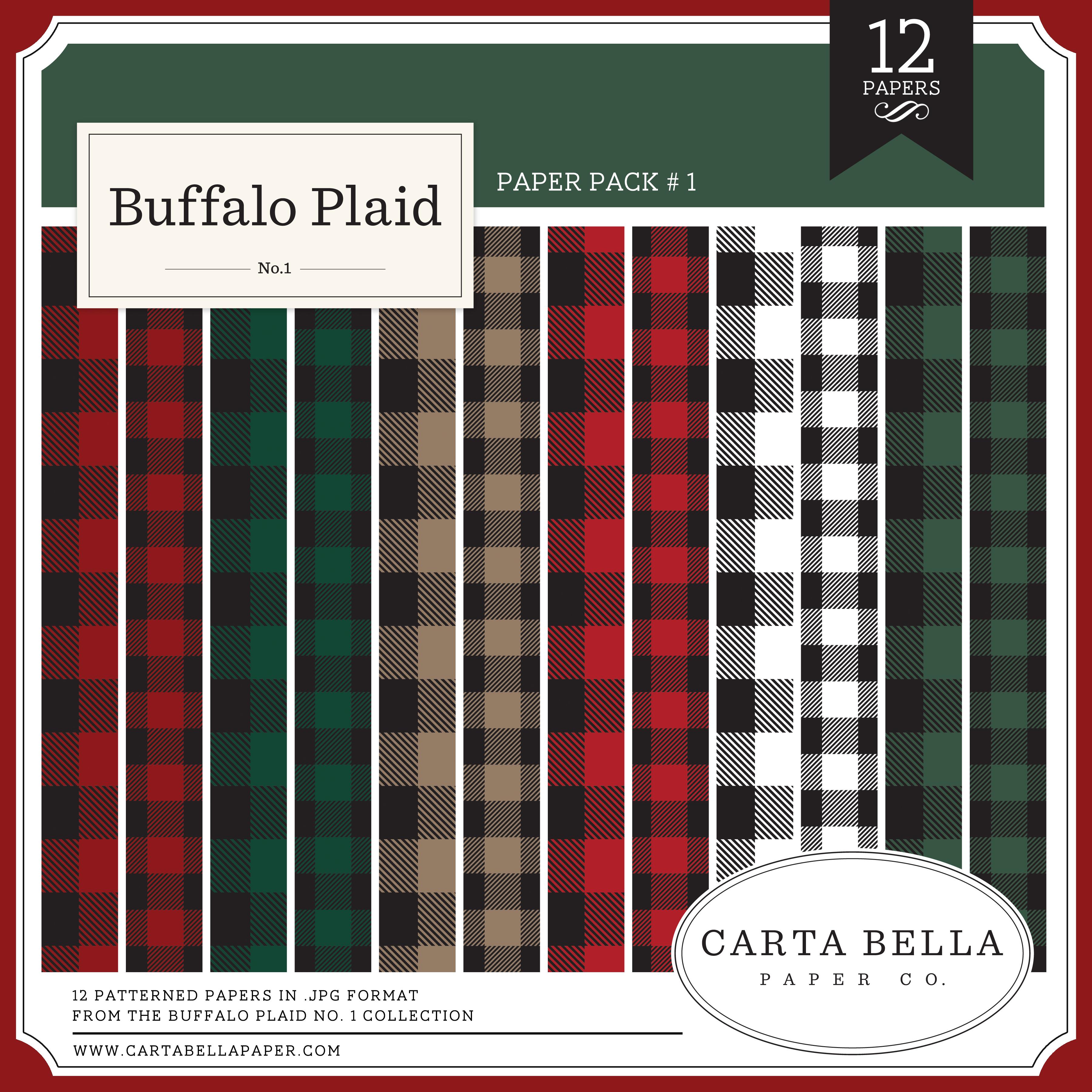 Buffalo Plaid No. 1 Paper Pack