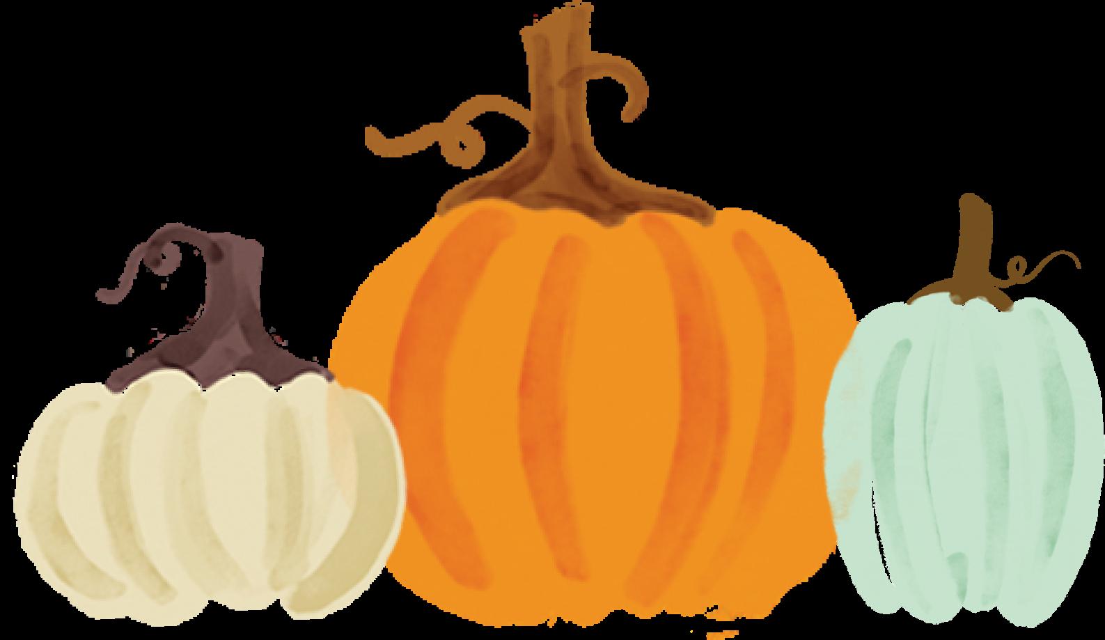 Three Pumpkins Print & Cut File