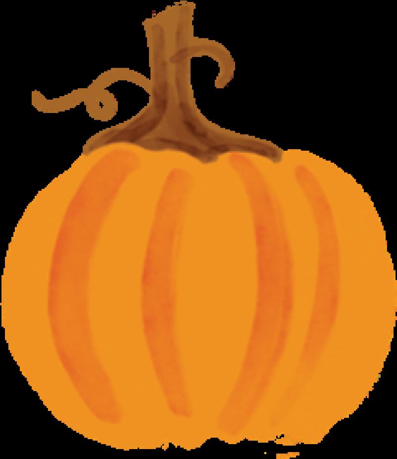 Fall Market Pumpkin #2 Print & Cut File