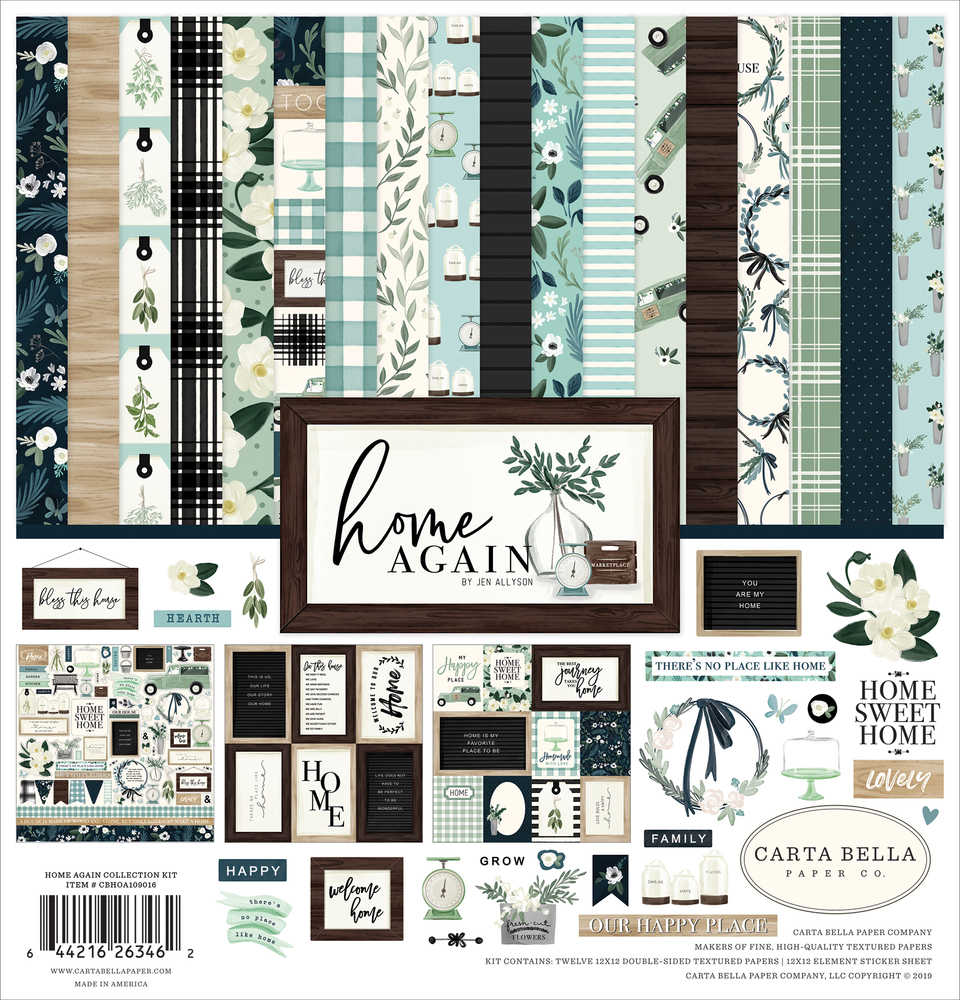 Home Again Collection Kit