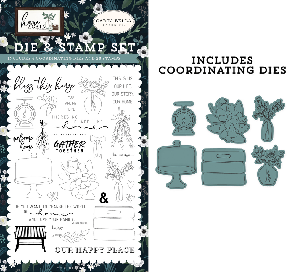 Gather Together Die & Stamp Set