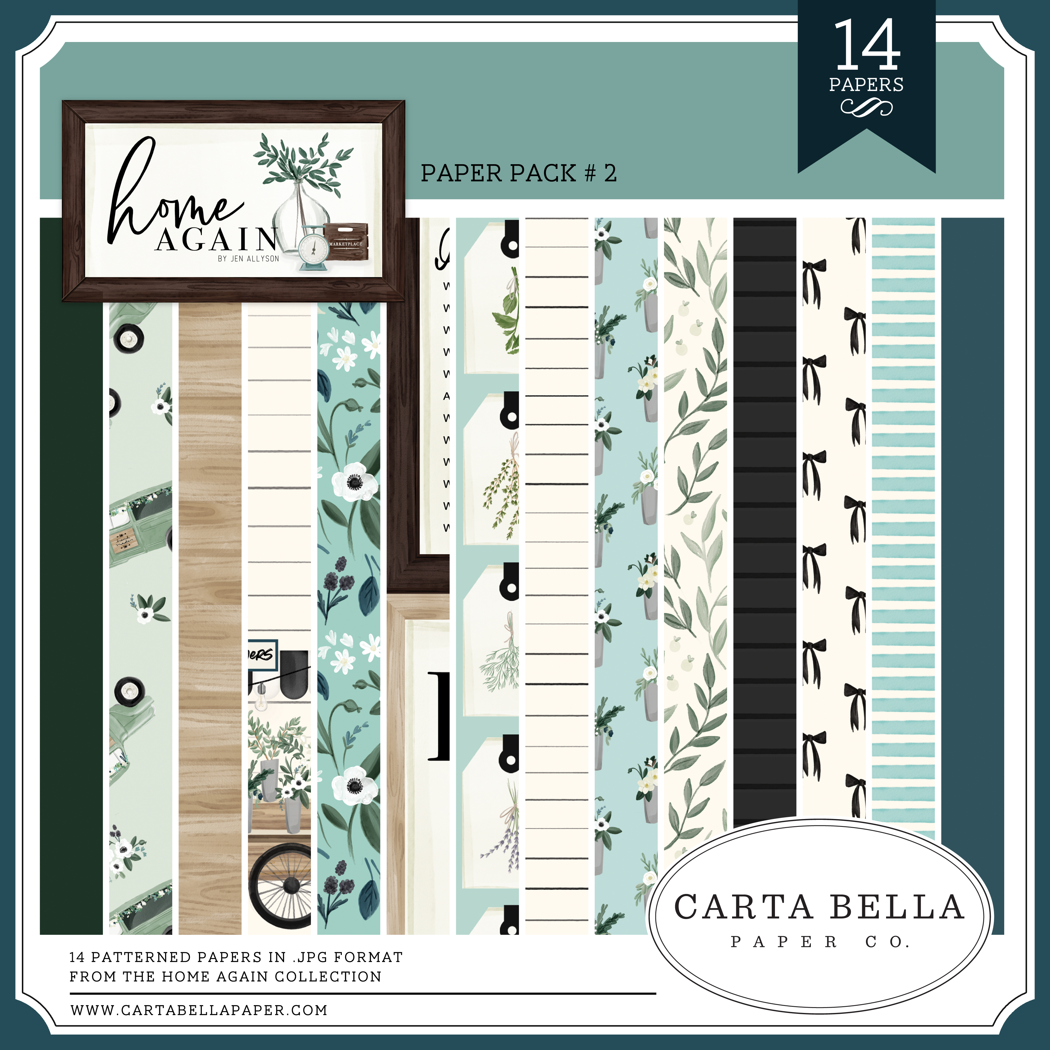 Home Again Paper Pack #2