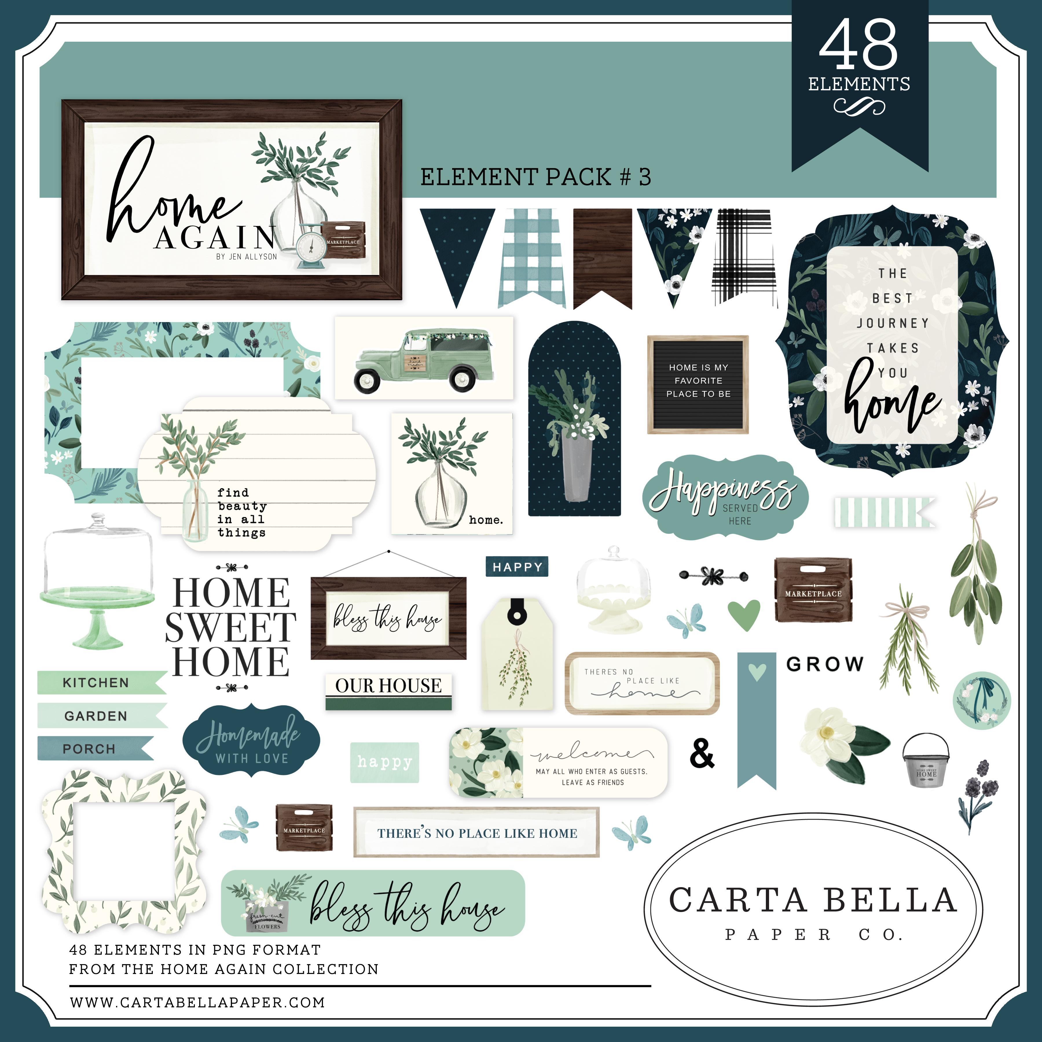 Home Again Element Pack #3