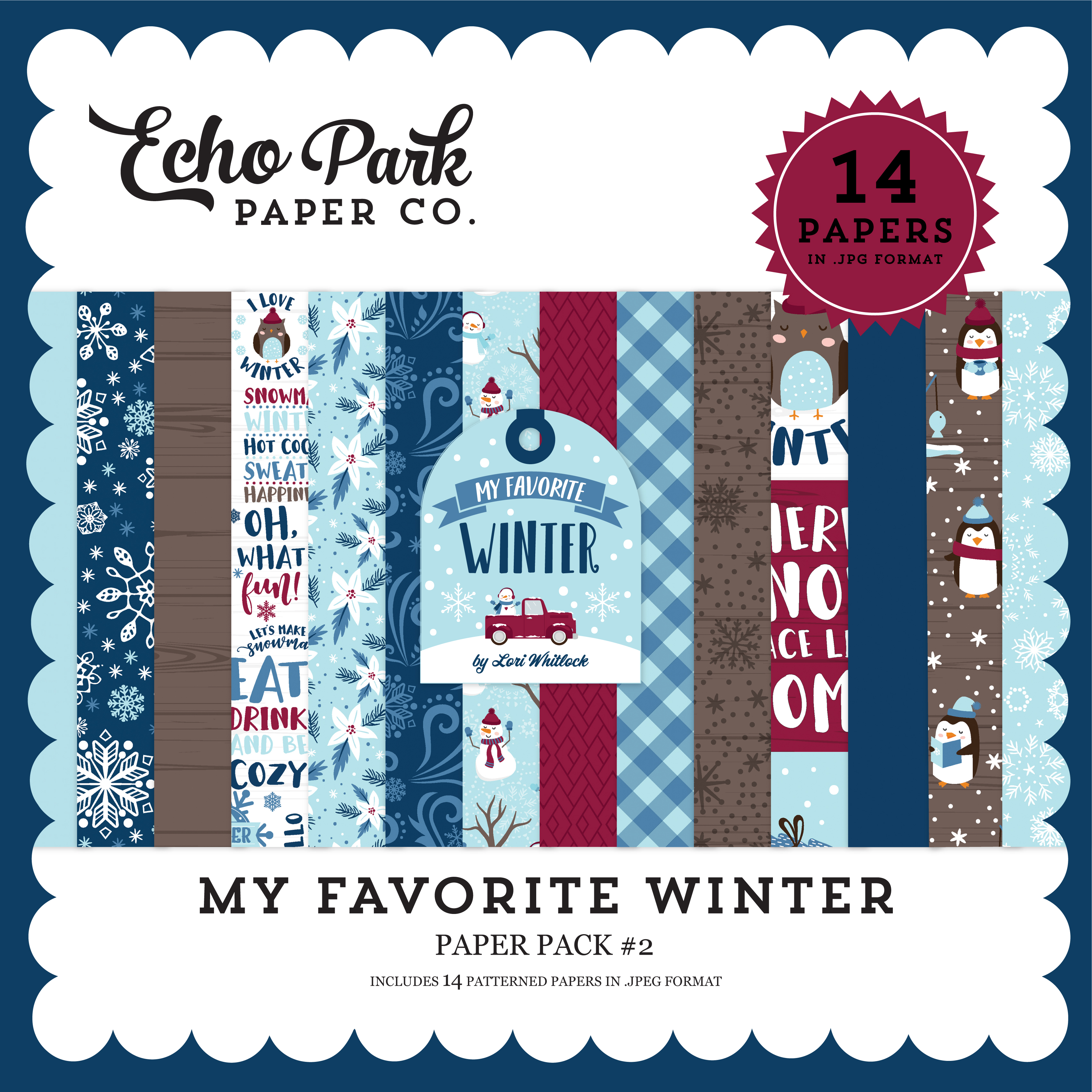 My Favorite Winter Paper Pack #2