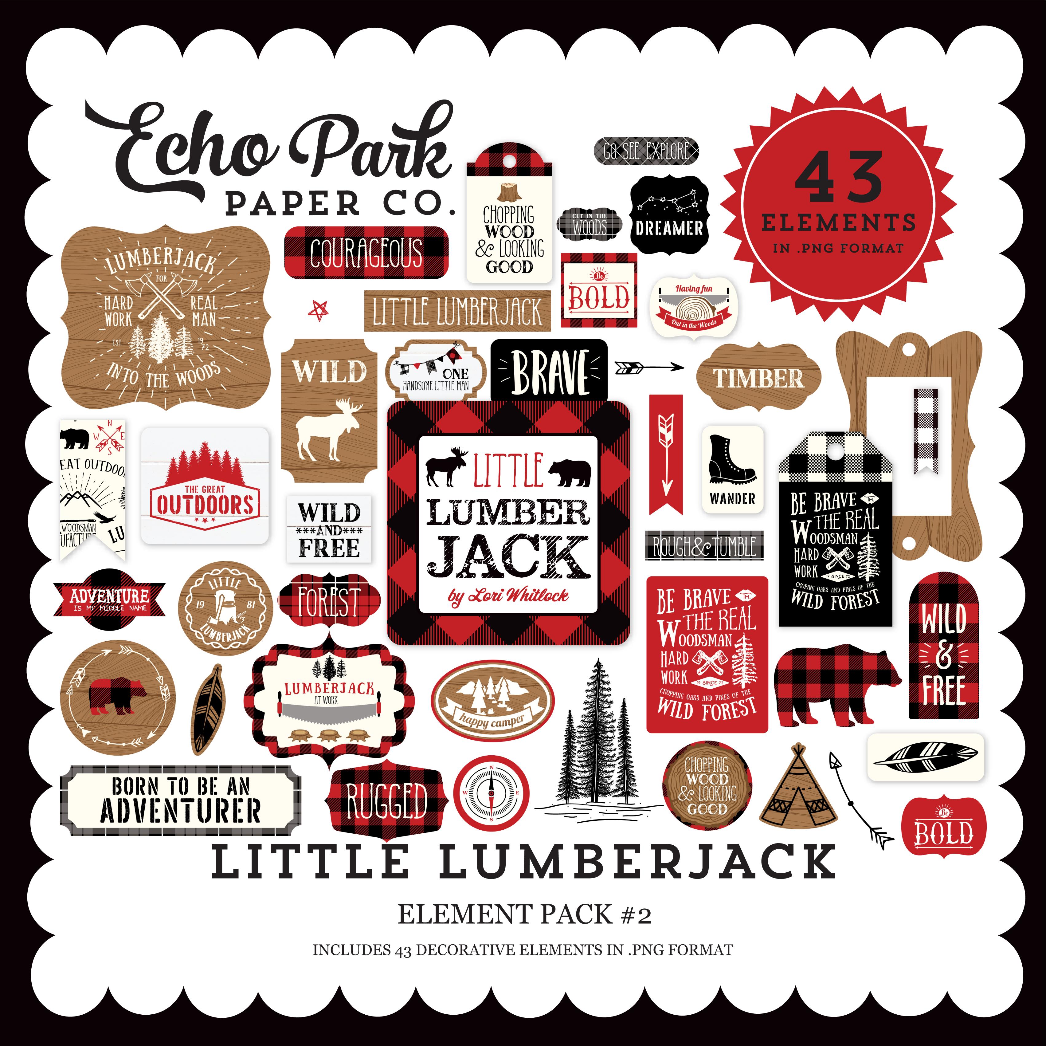 Little Lumberjack Element Pack #2