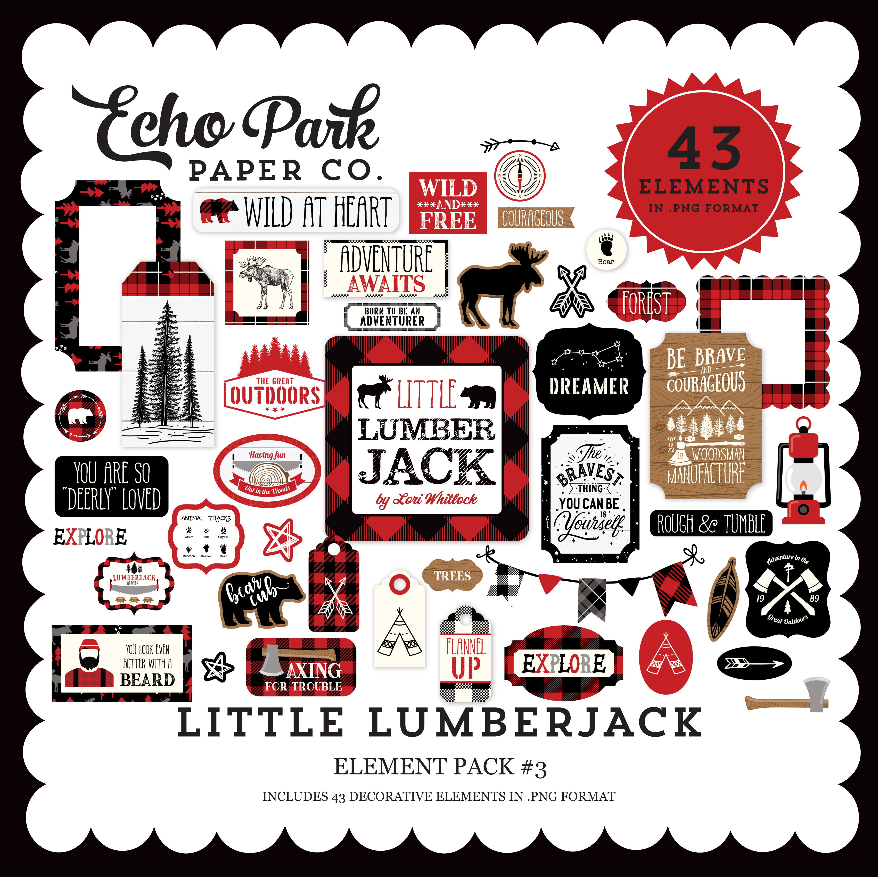 Little Lumberjack Element Pack #3