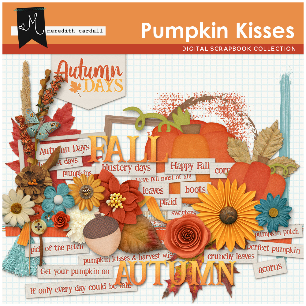 Pumpkin Kisses Kit