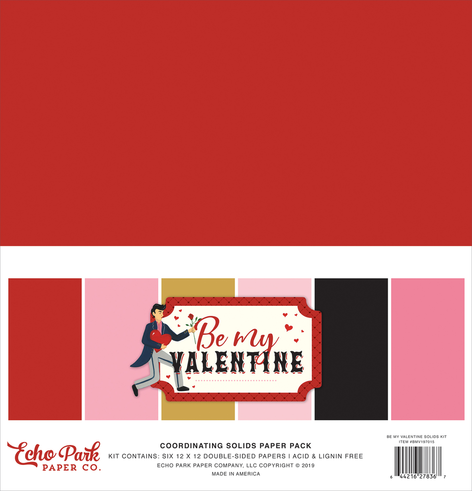 Be My Valentine Solids Kit