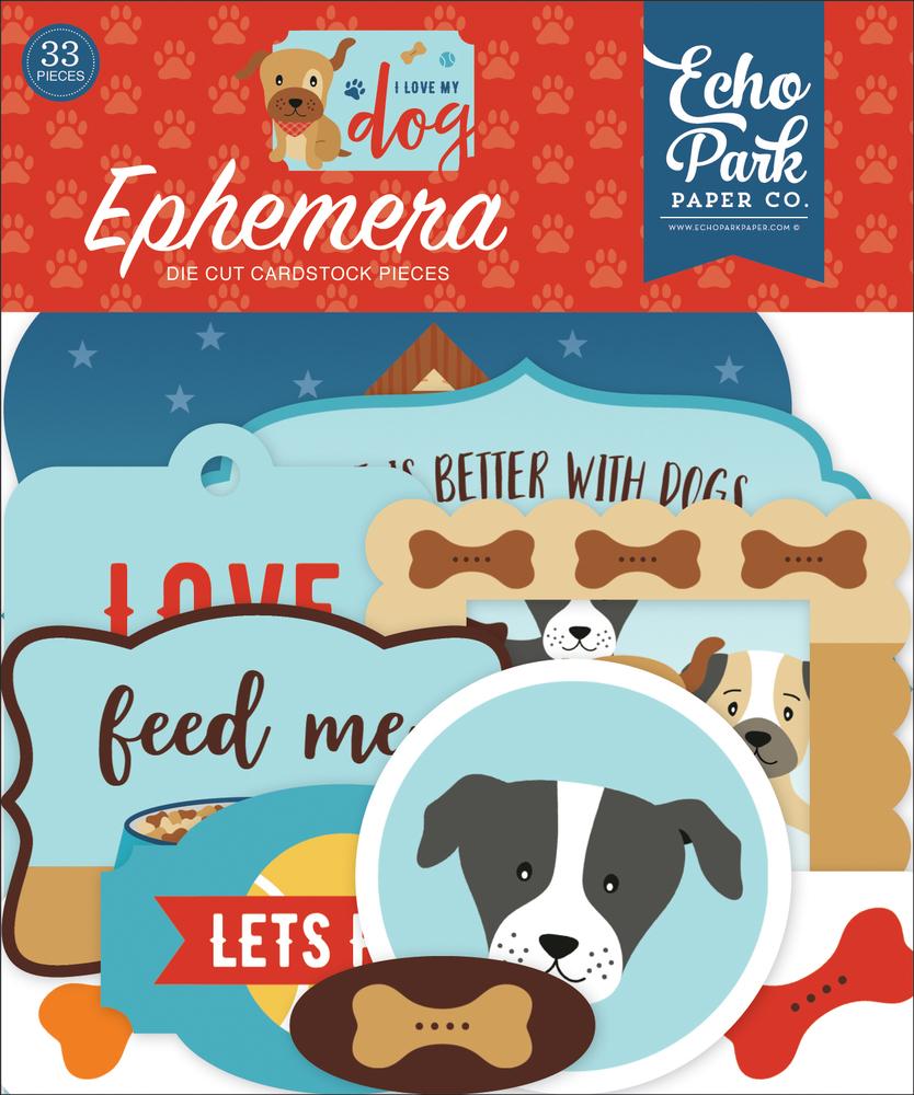 I Love My Dog Ephemera