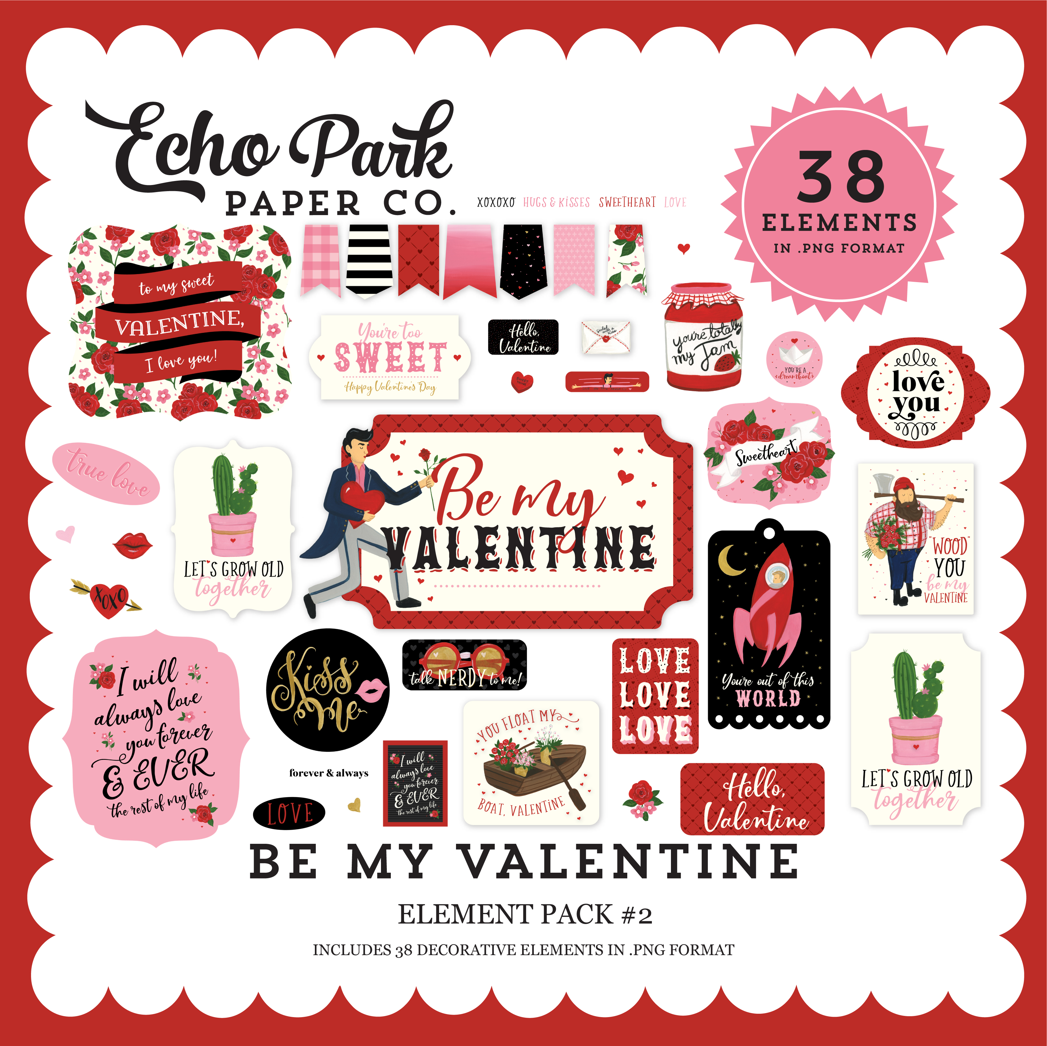 Be My Valentine Mega Collection