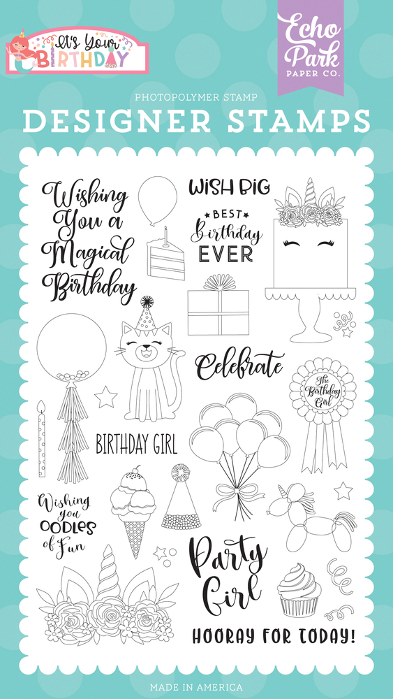 Birthday Girl Stamp Set