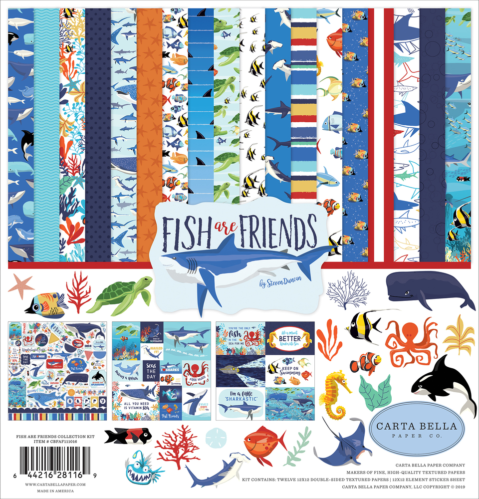 Fish Are Friends Collection Kit