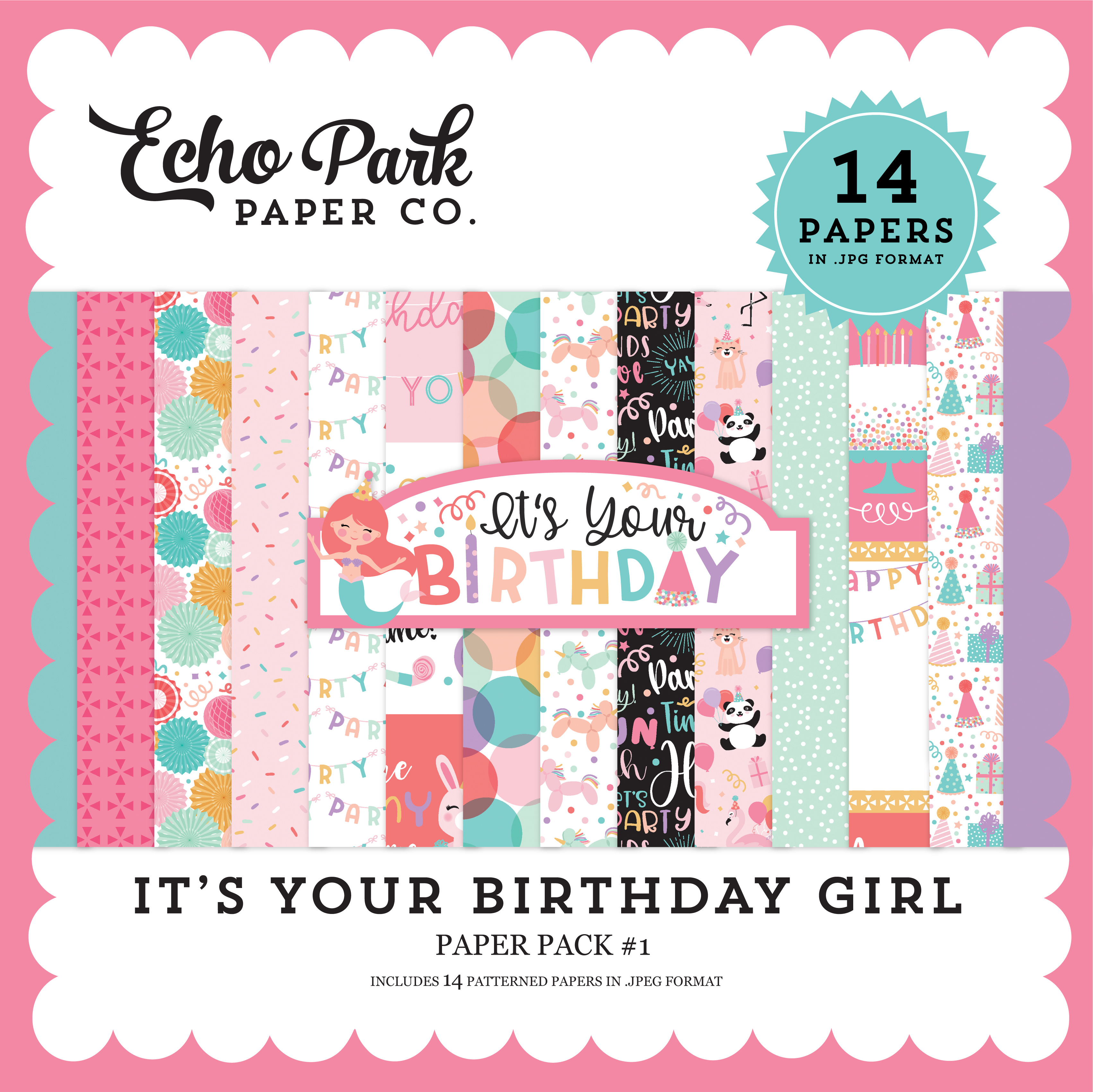 It's Your Birthday Girl Paper Pack #1