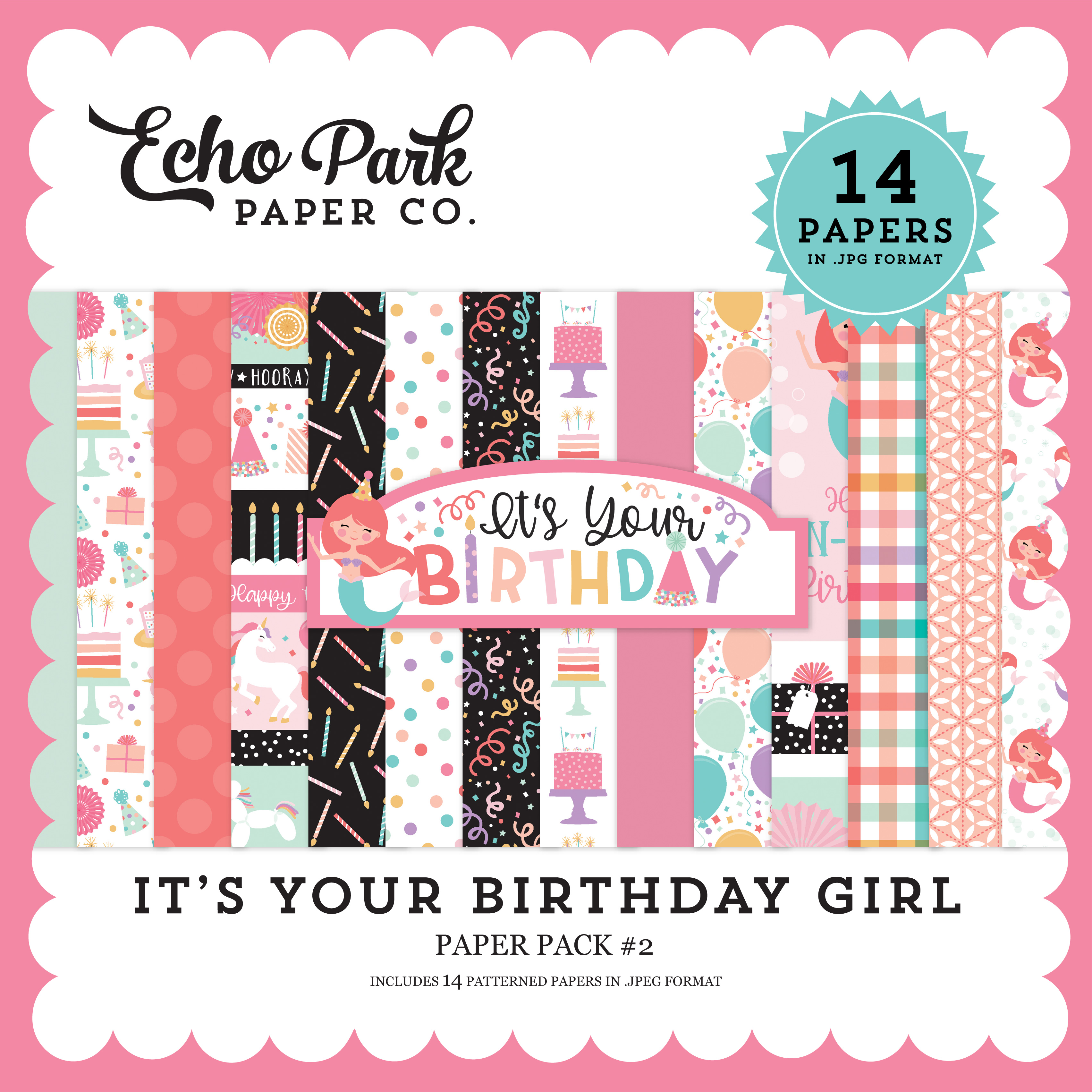 It's Your Birthday Girl Paper Pack #2