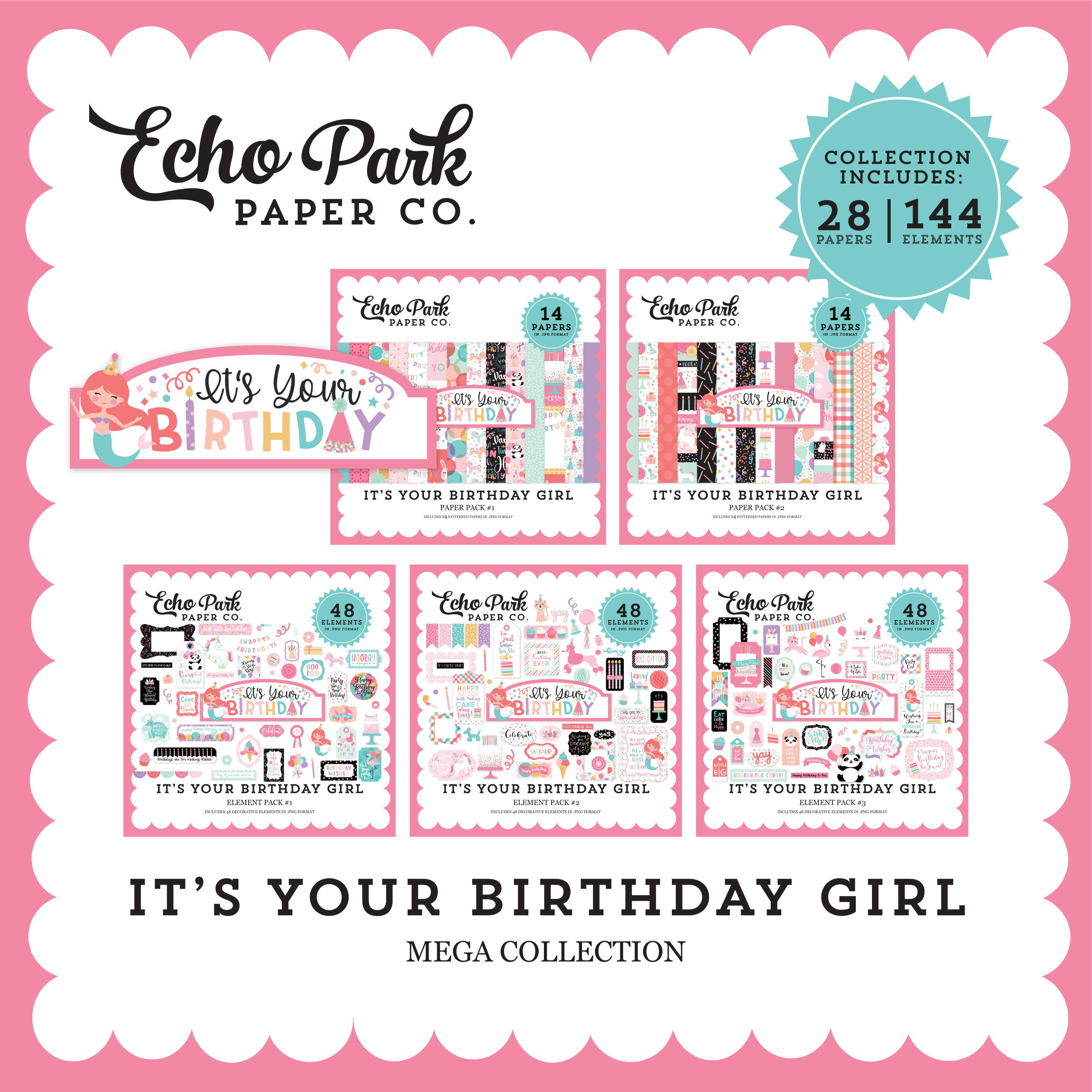 It's Your Birthday Girl Mega Collection