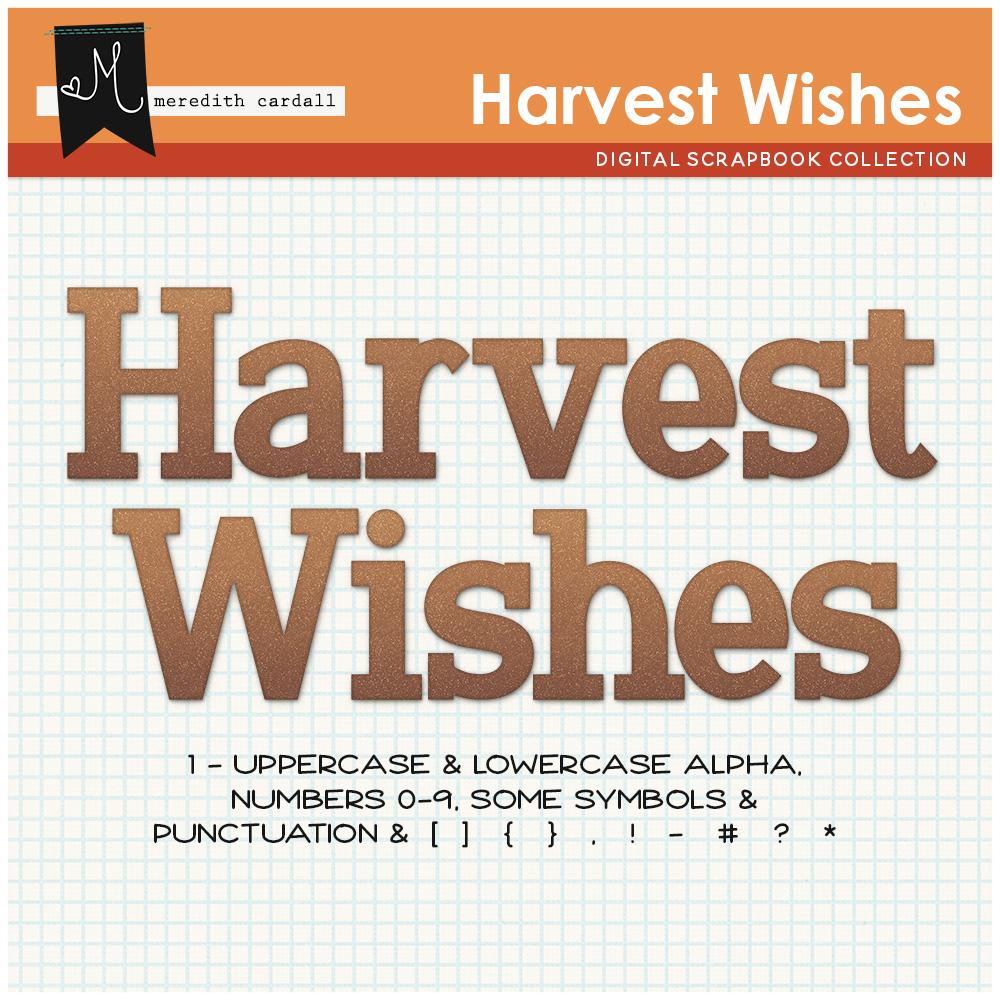 Harvest Wishes Kit