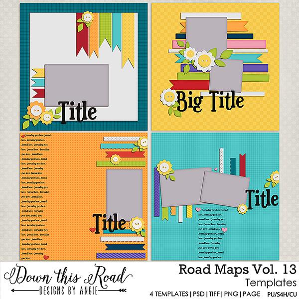 Road Maps | Vol 13