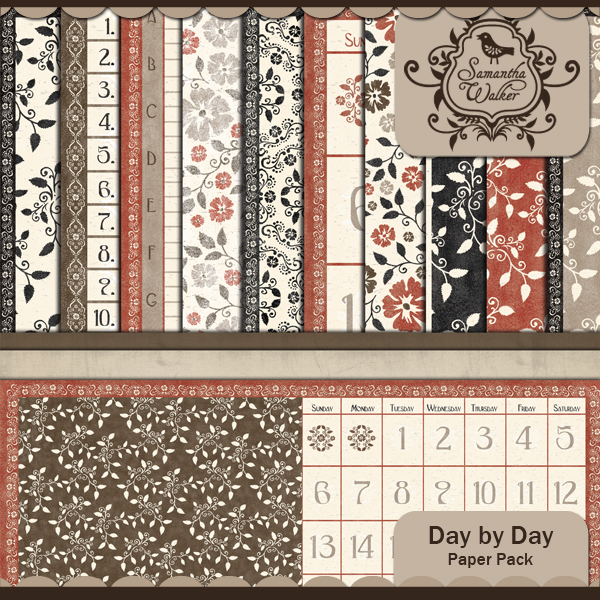 Day by Day paper pack
