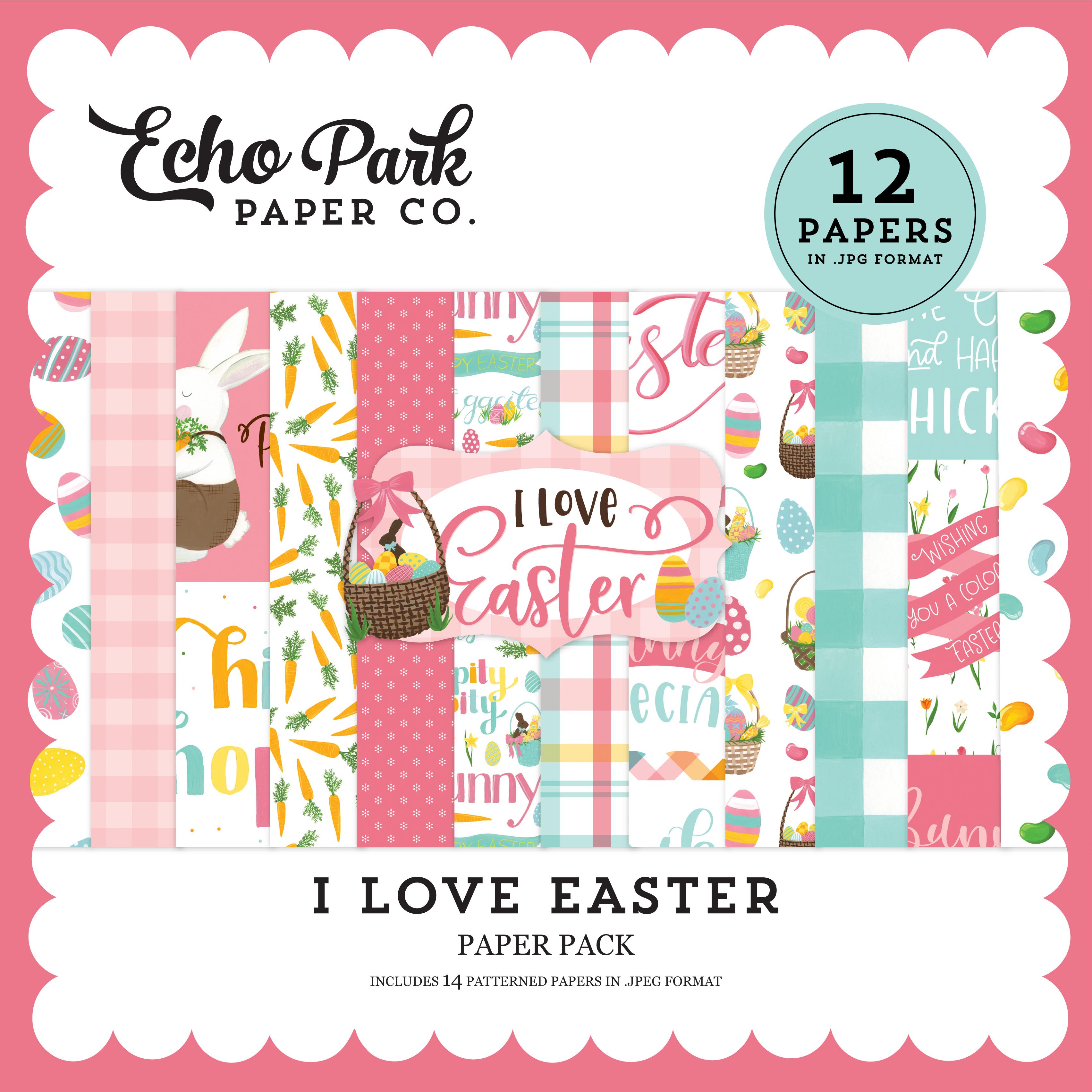 I Love Easter Mega Collection