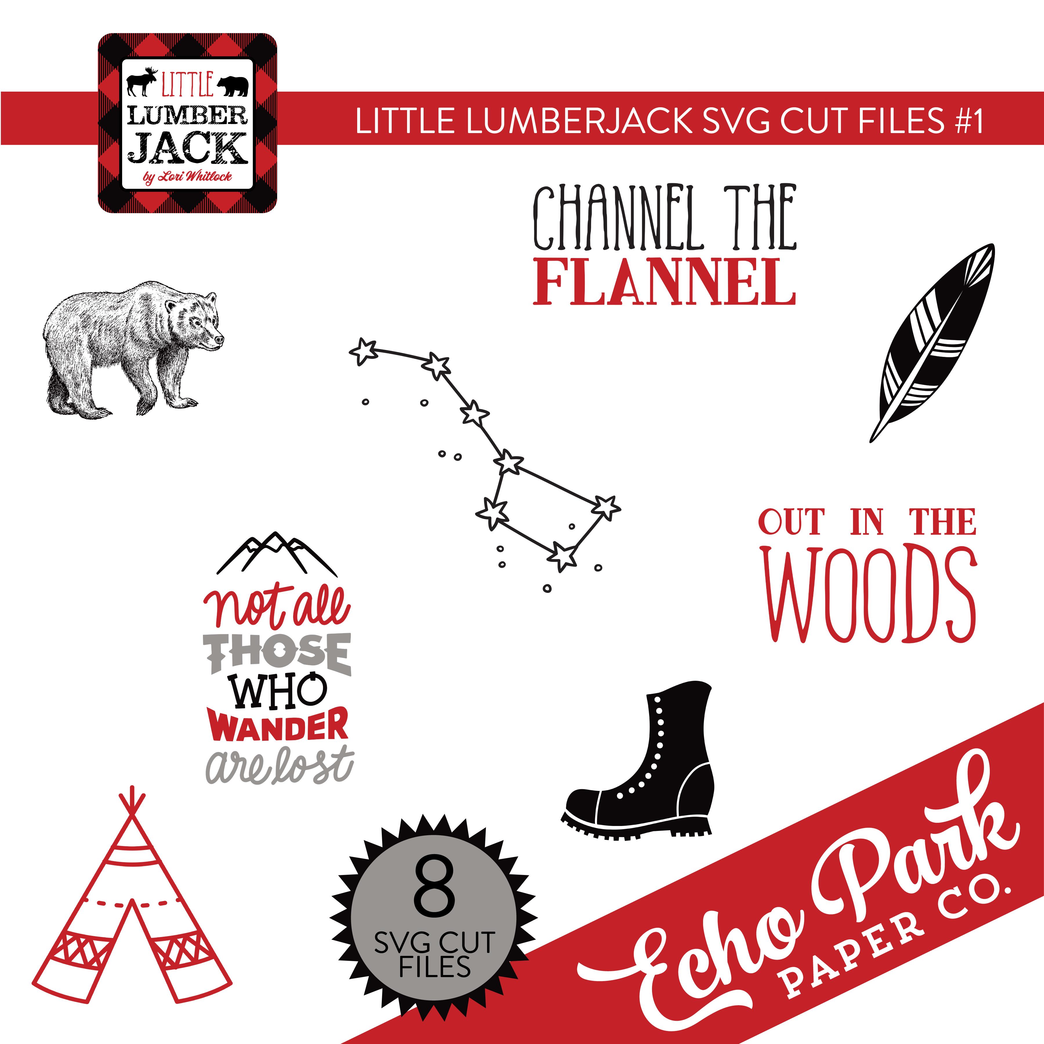 Little Lumberjack SVG Cut File #1