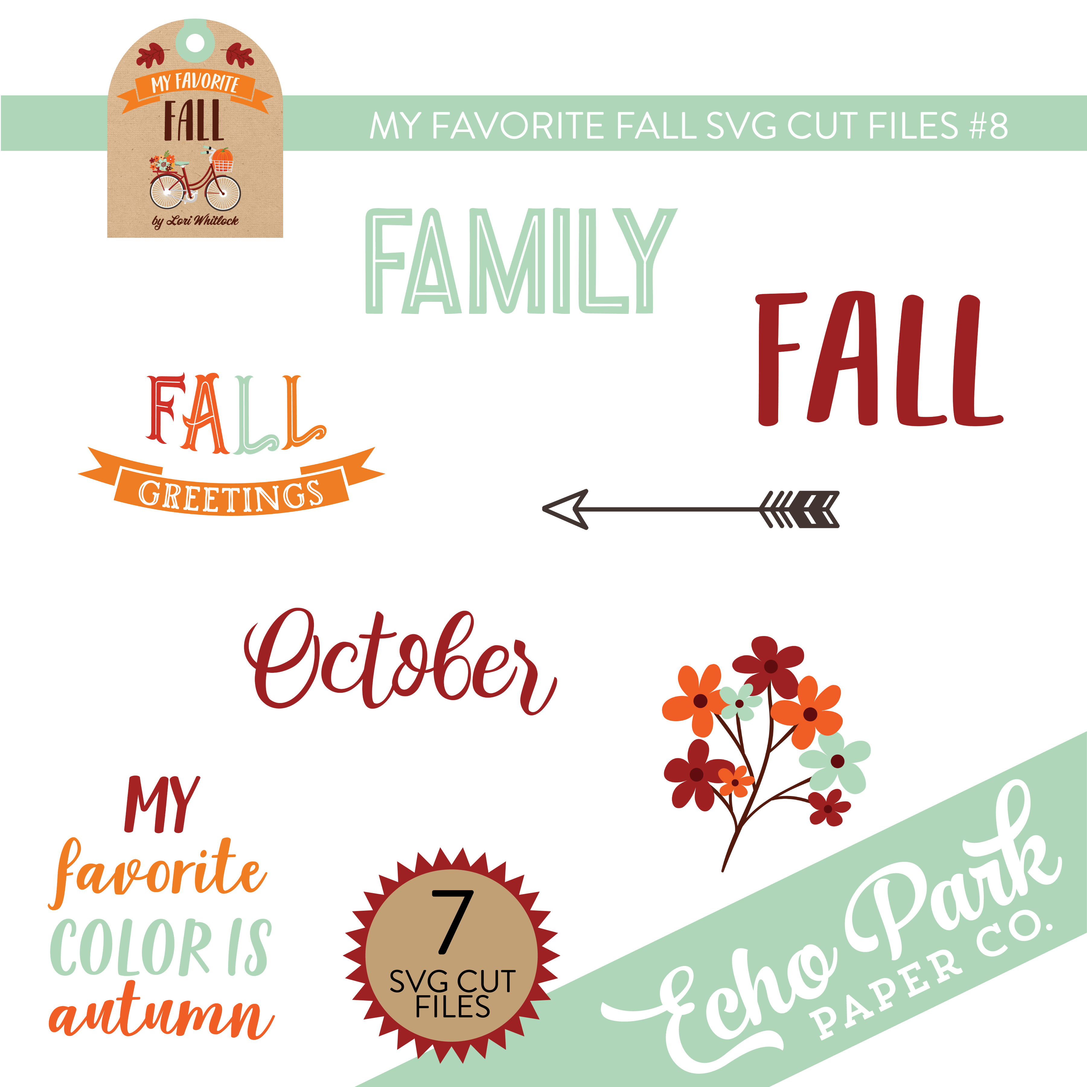 My Favorite Fall Svg Cut Files 8 Snap Click Supply Co