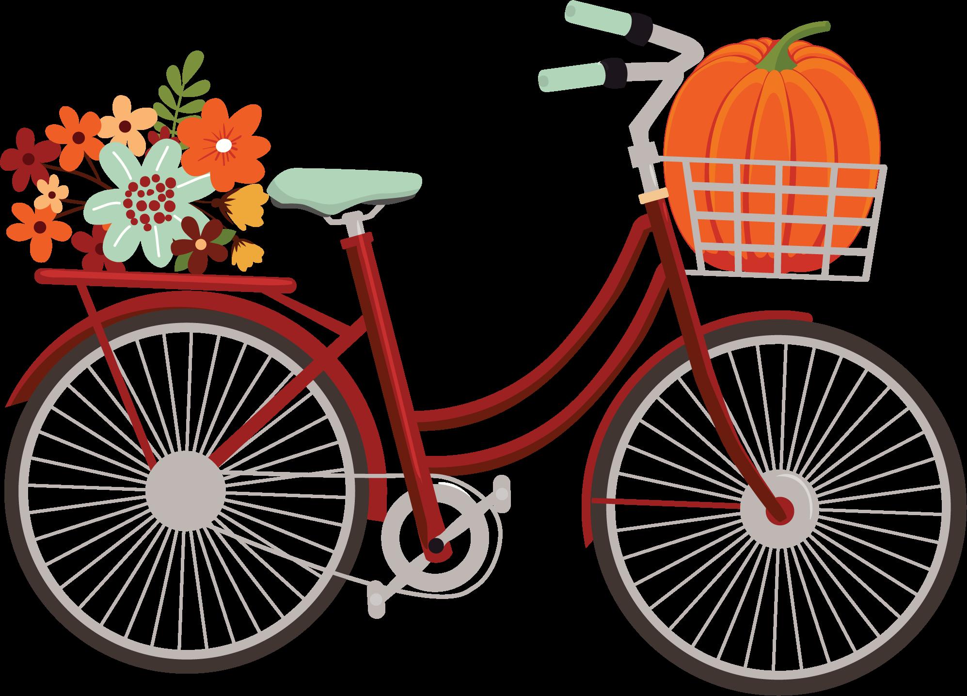 My Favorite Fall Bike Print & Cut File