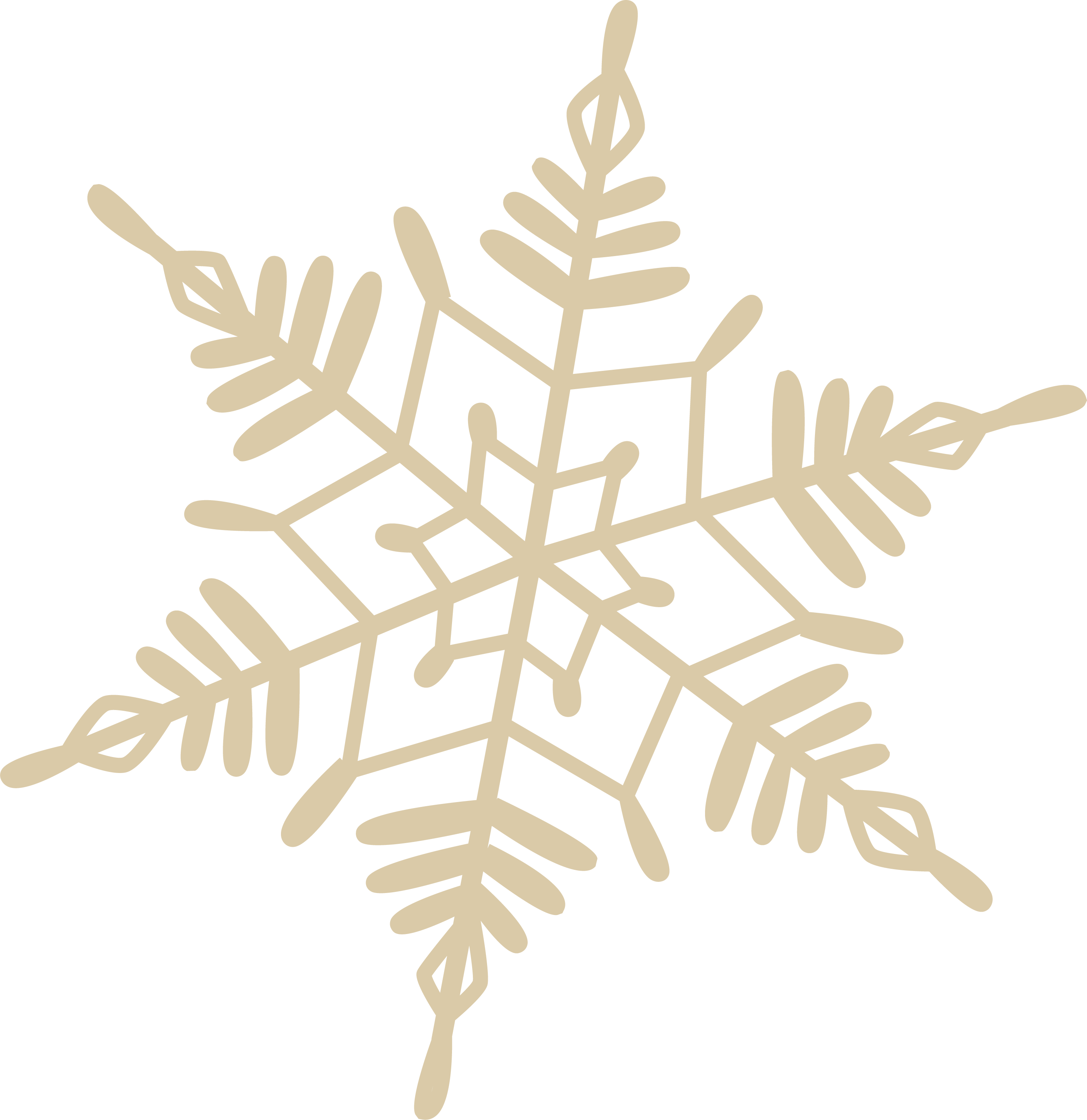 A Cozy Christmas Snowflake #4