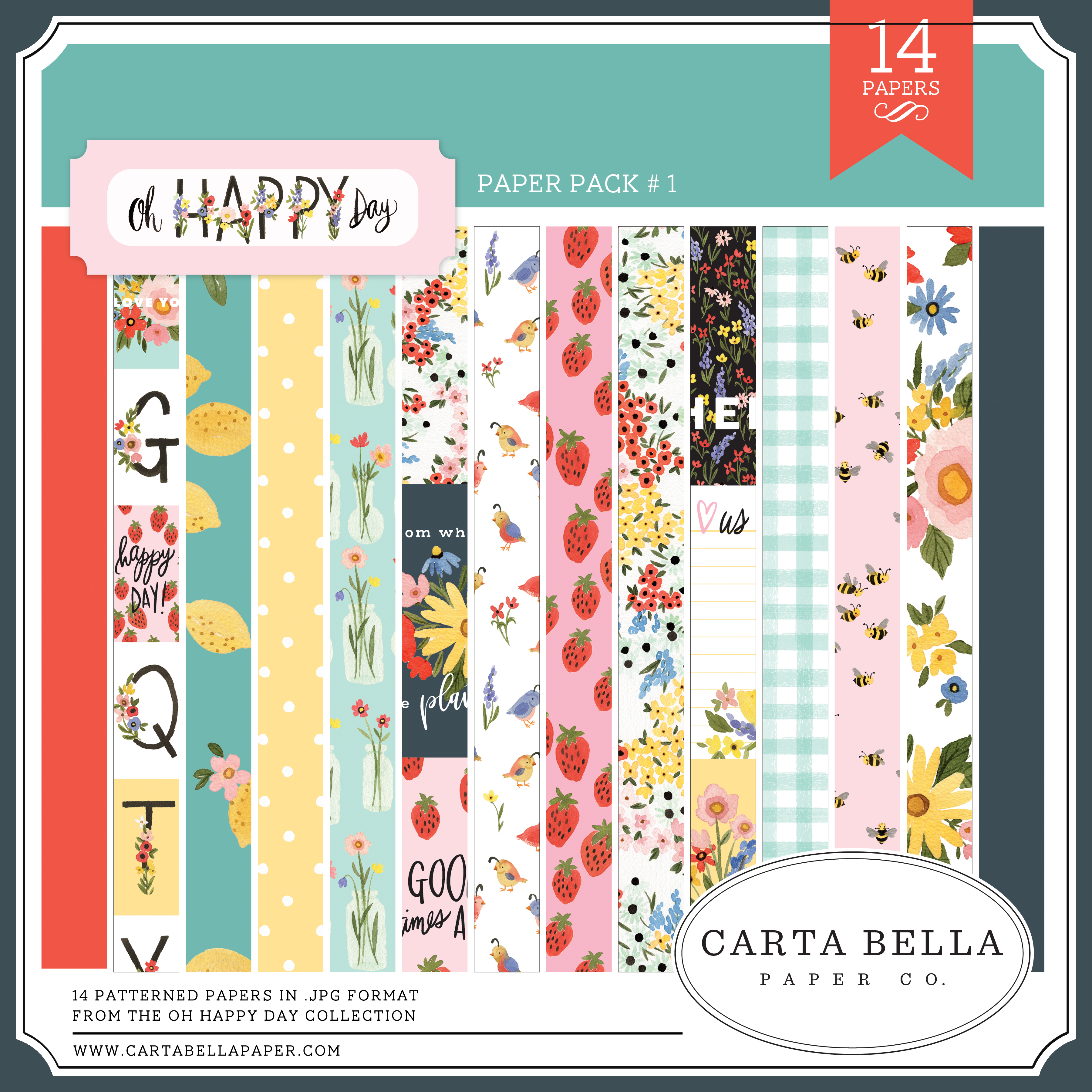 Oh Happy Day Paper Pack #1