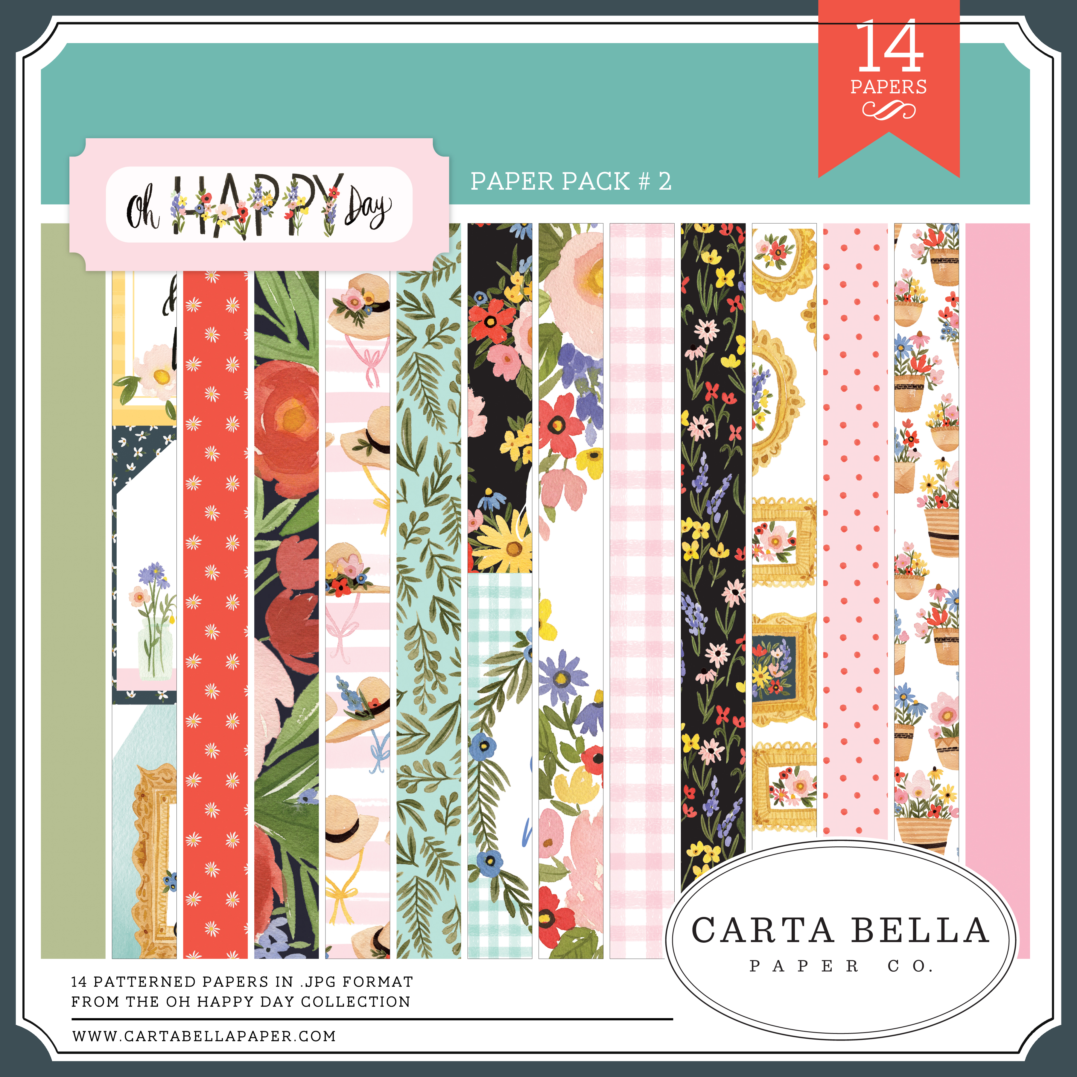 Oh Happy Day Paper Pack #2