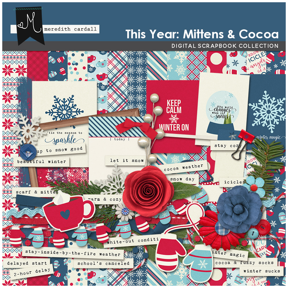 This Year: Mittens & Cocoa Kit