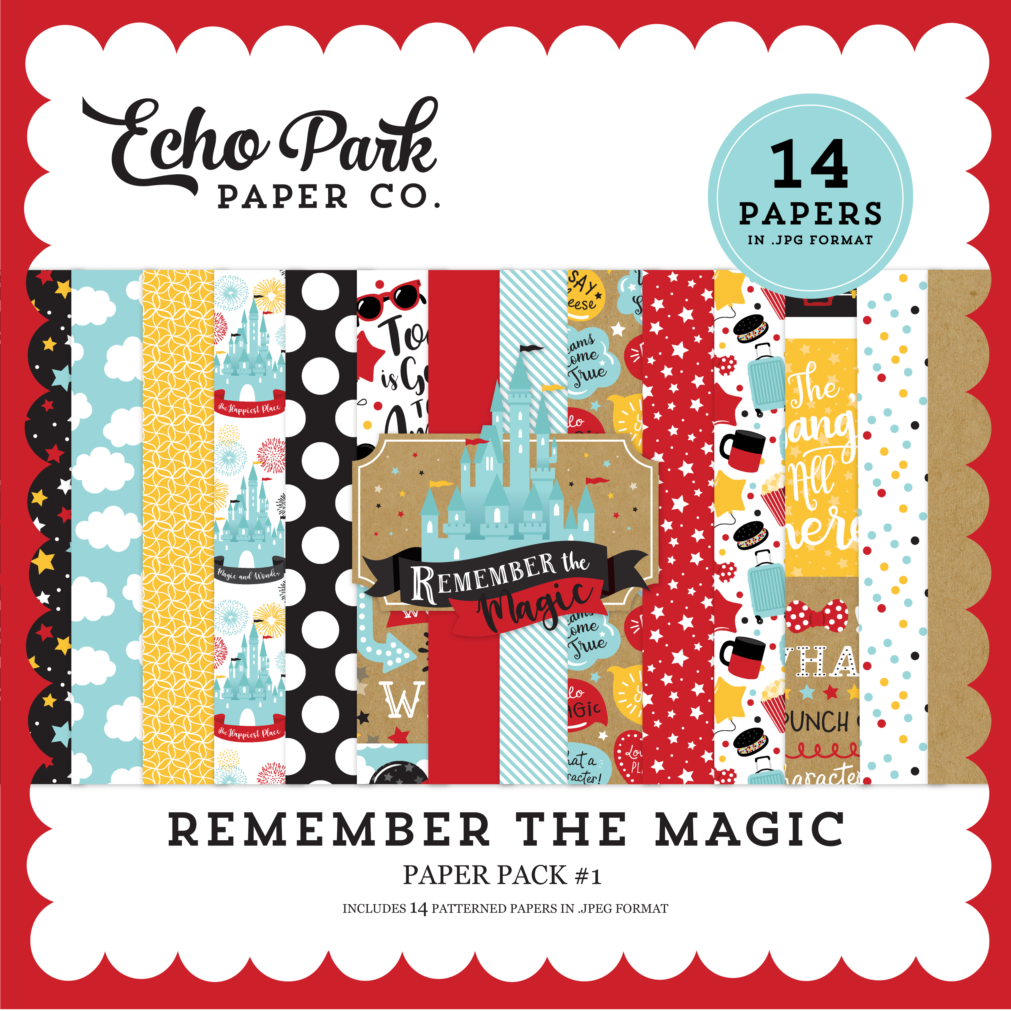 Remember the Magic Paper Pack #1