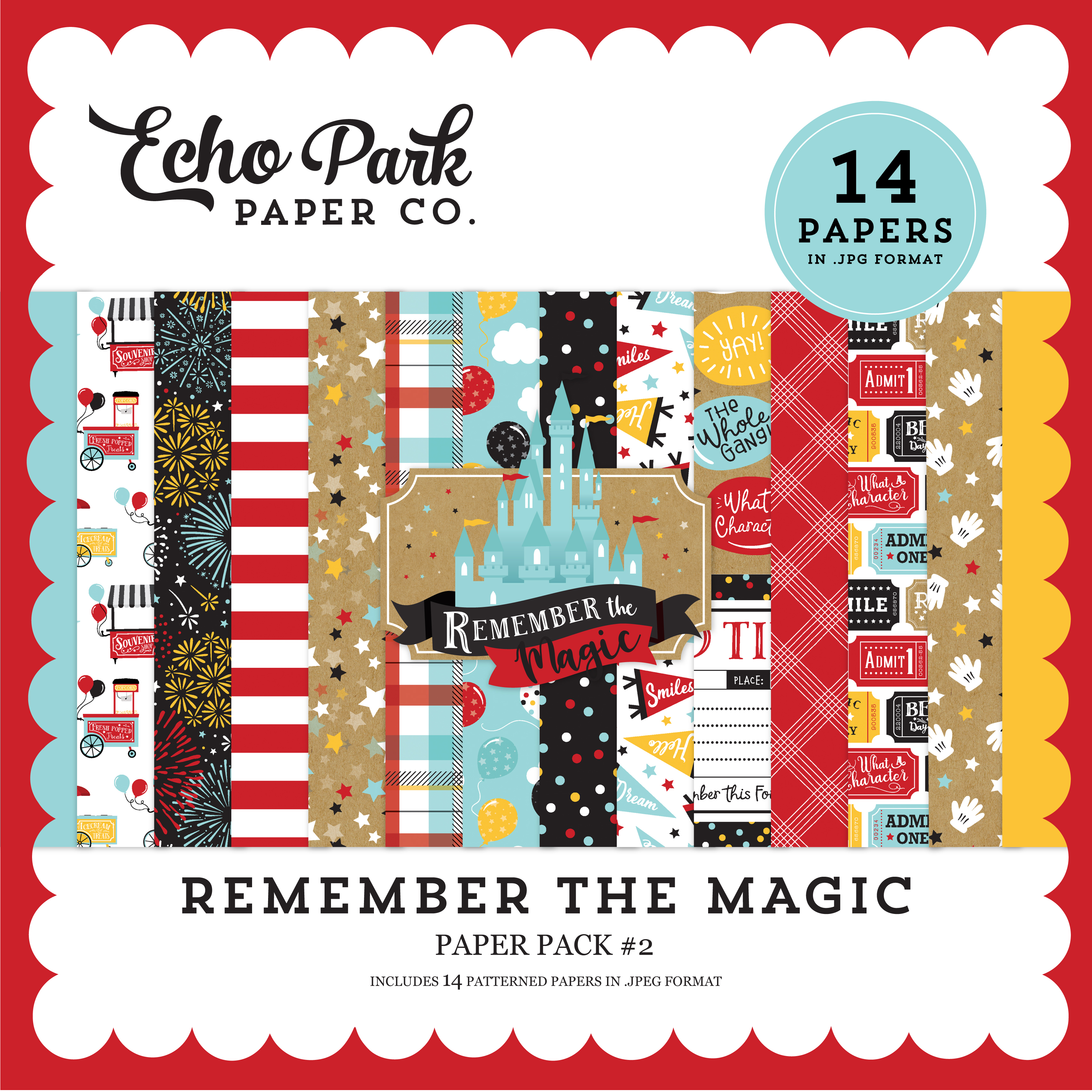 Remember the Magic Paper Pack #2