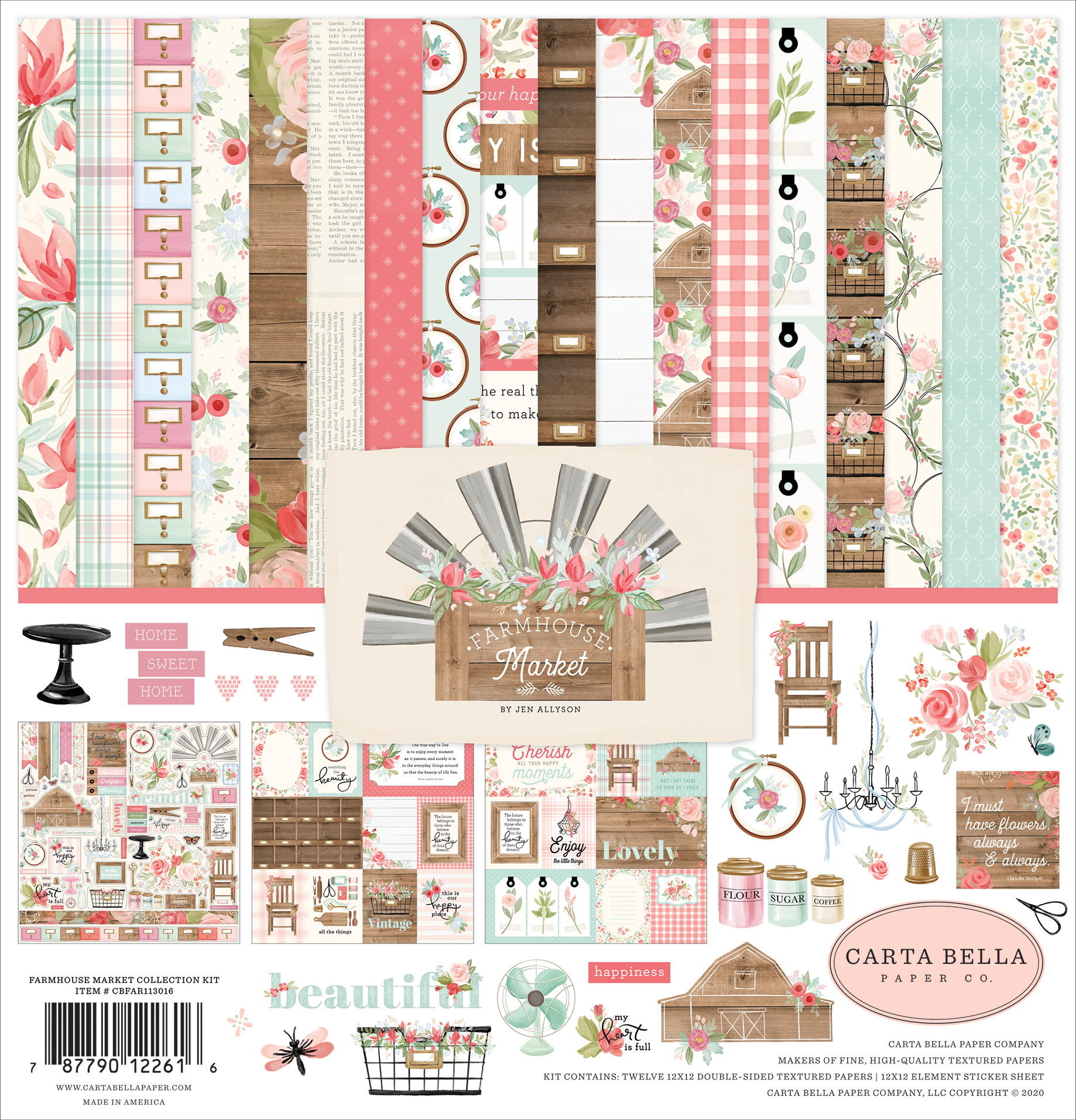 Farmhouse Market Collection Kit