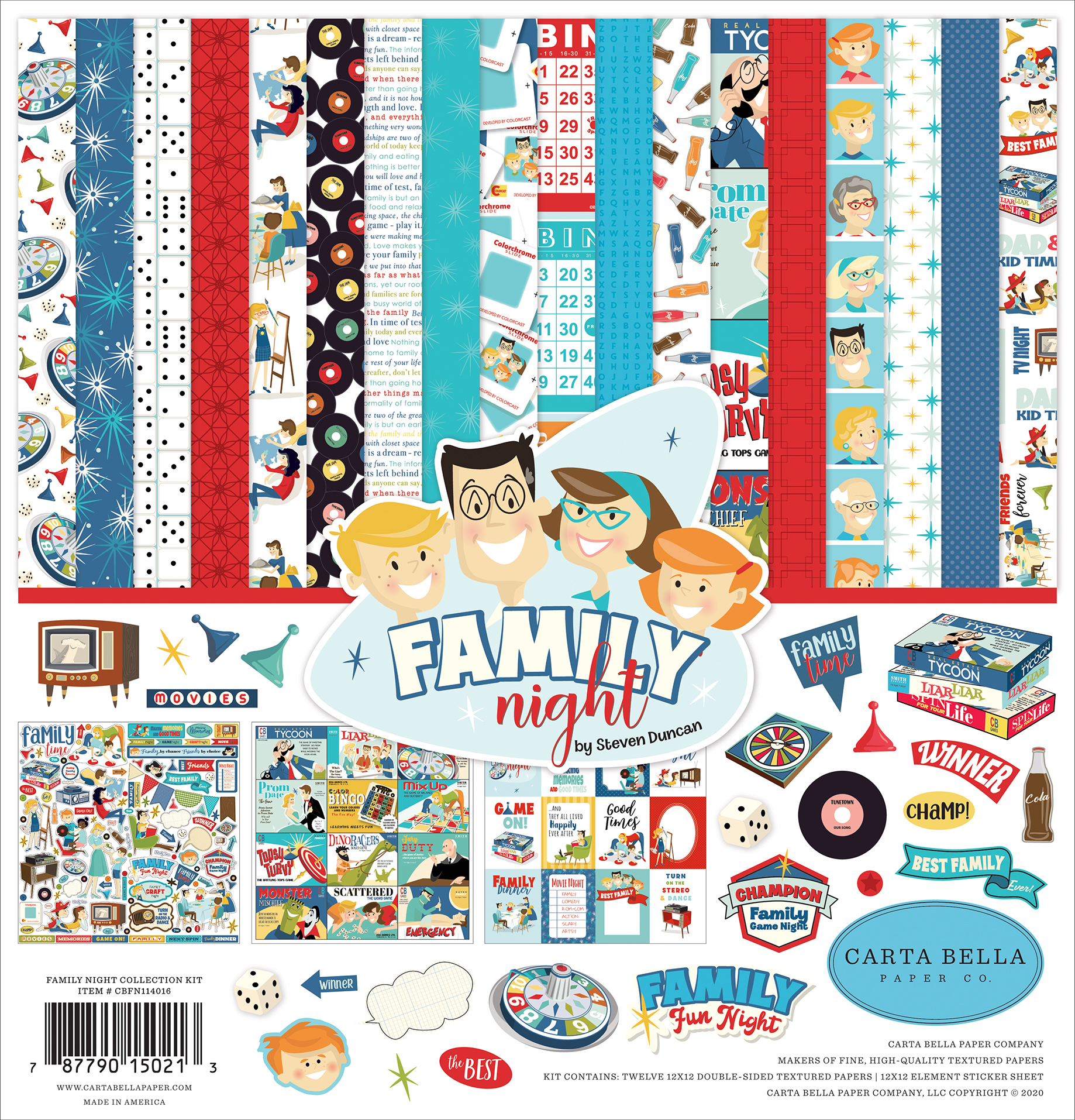 Family Night Collection Kit