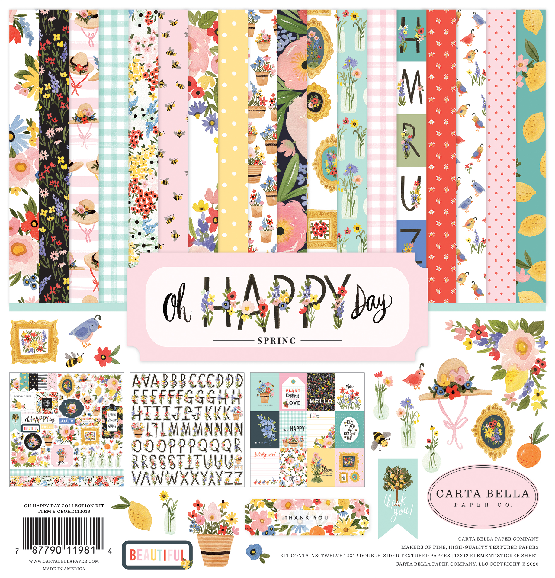 Oh Happy Day Collection Kit