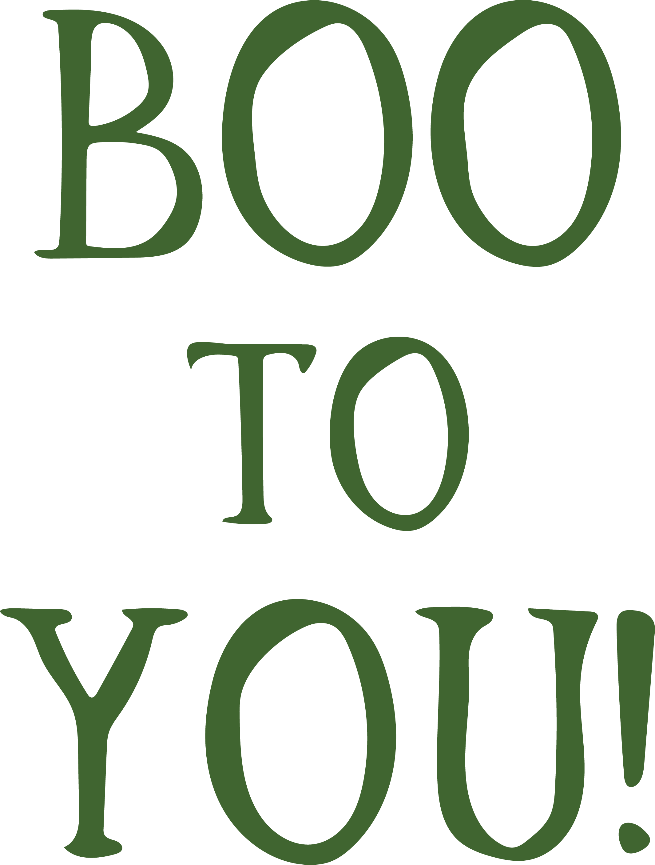 Boo To You SVG Cut File