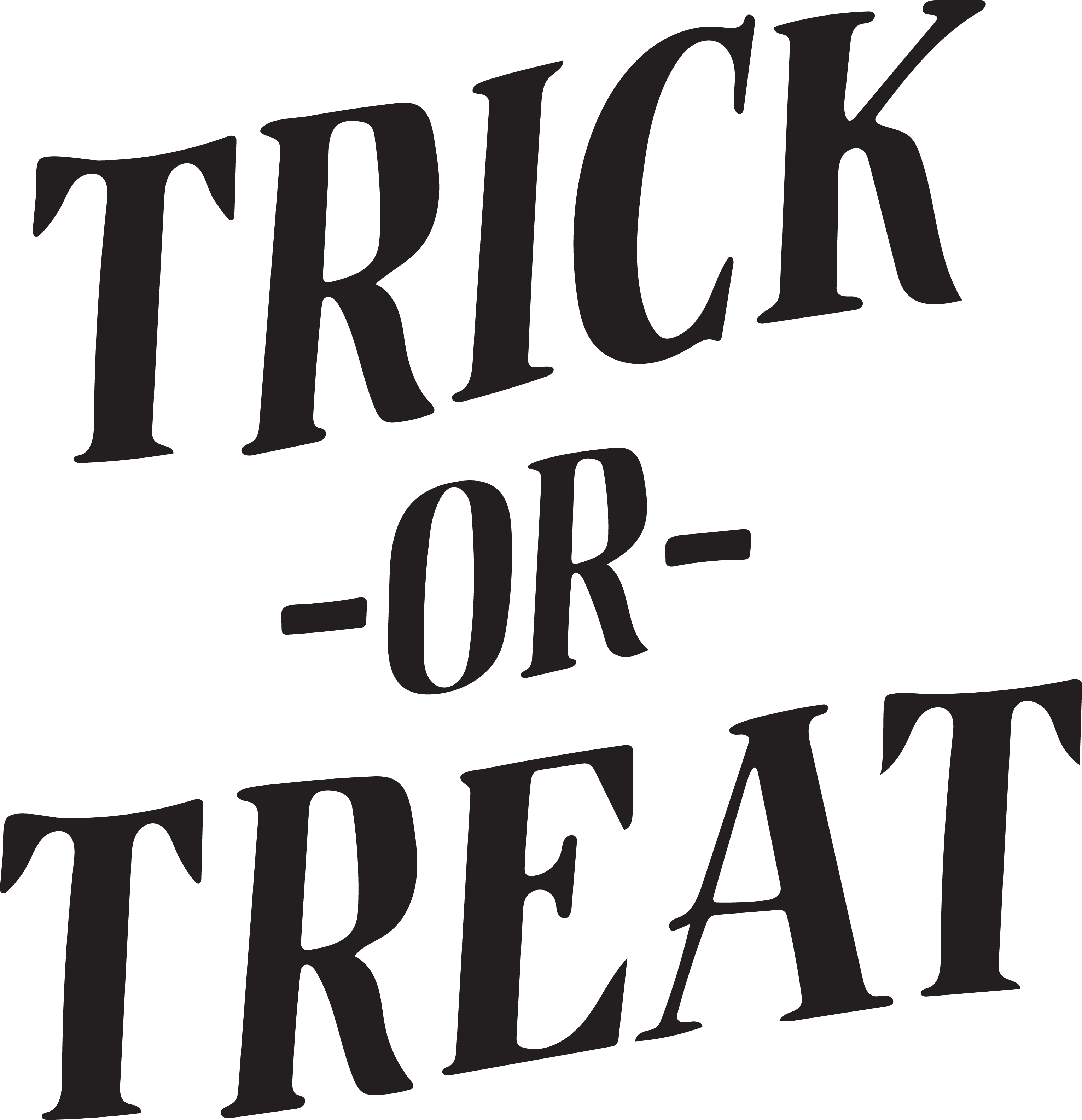 Trick -Or- Treat SVG Cut File