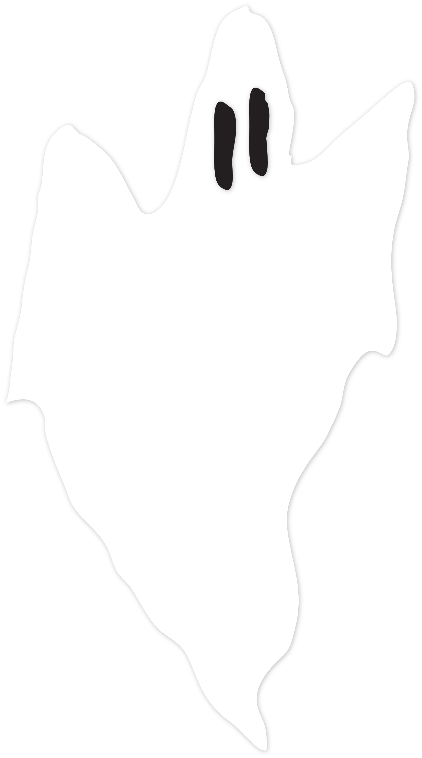 Trick Or Treat Ghost #2 SVG Cut File