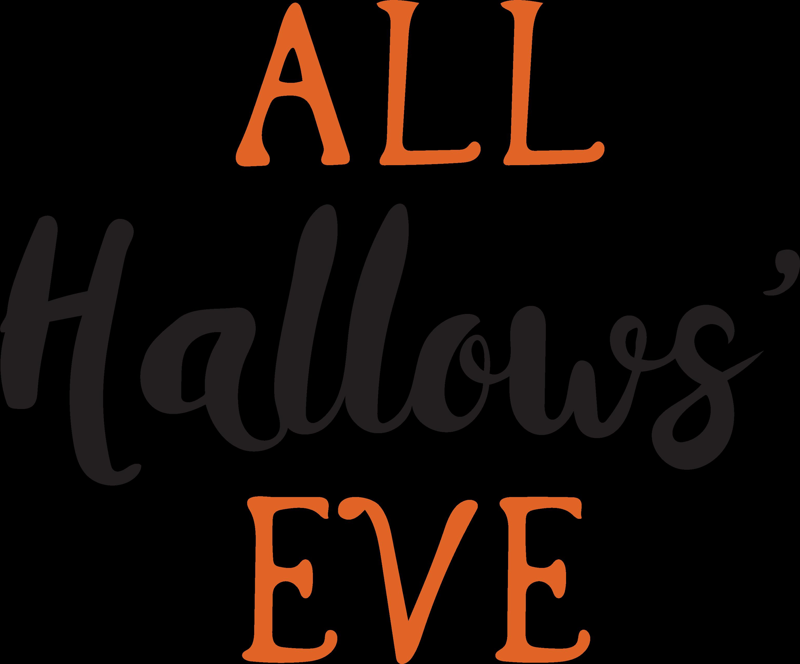 All Hallows' Eve SVG Cut File