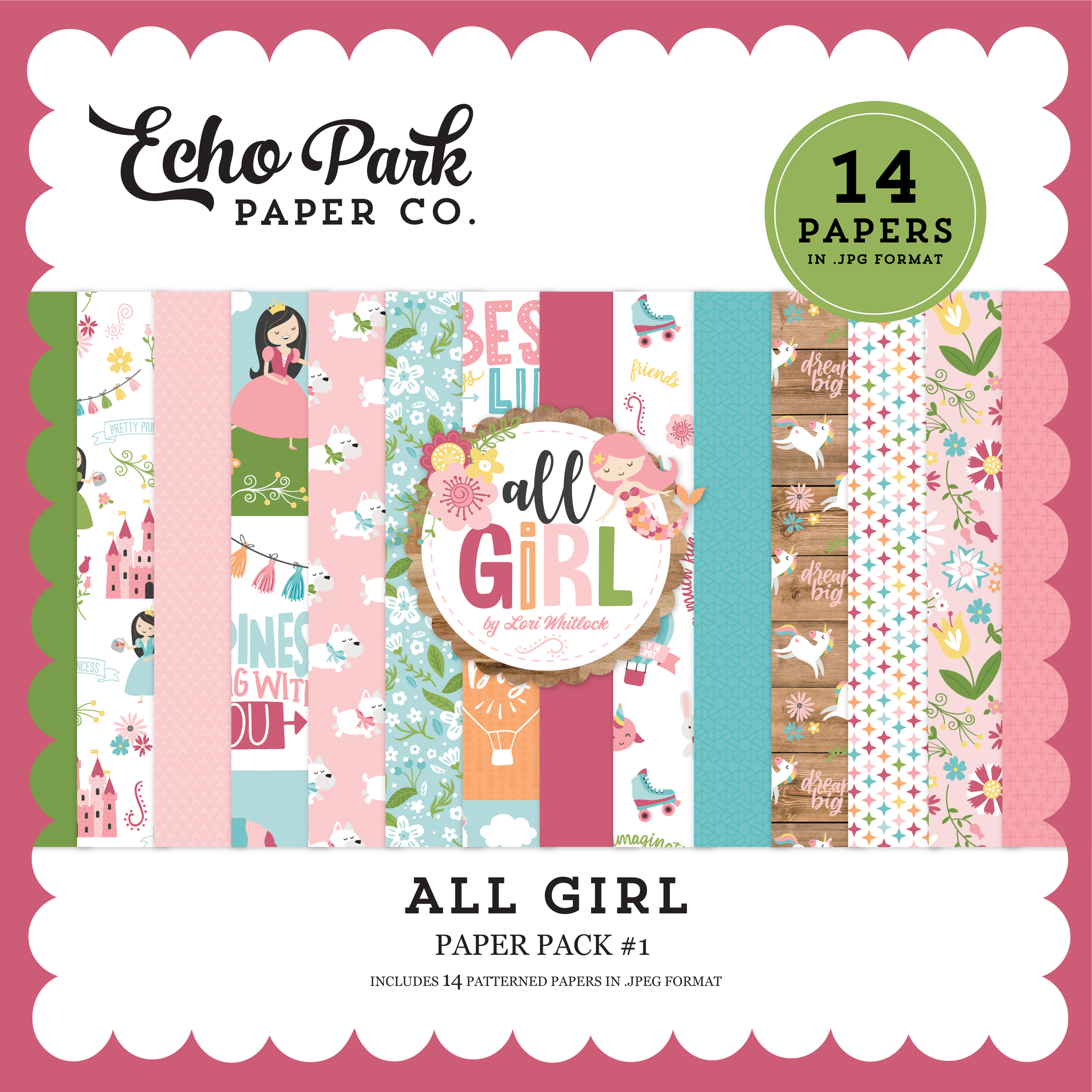 All Girl Paper Pack #1