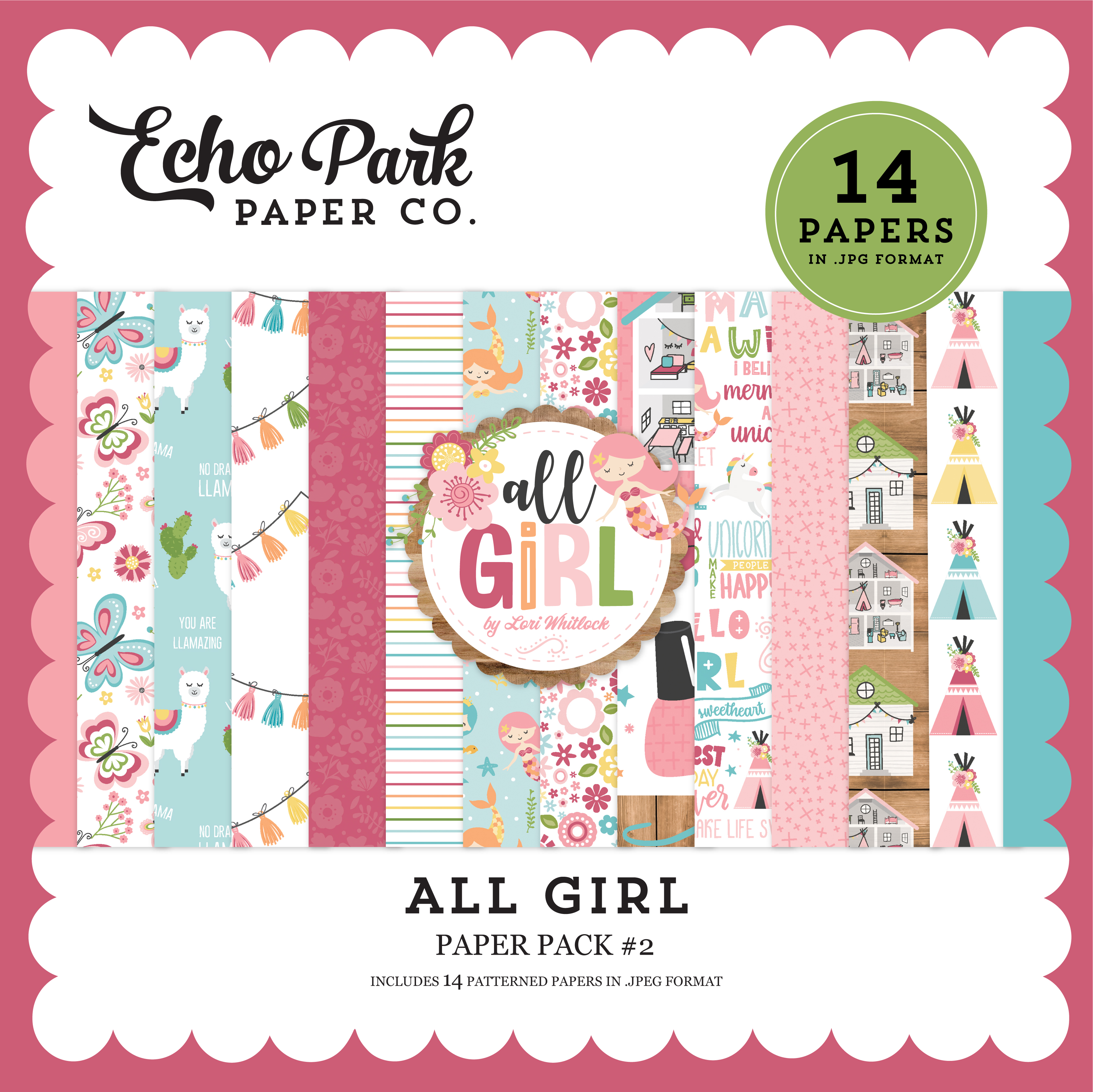All Girl Paper Pack #2
