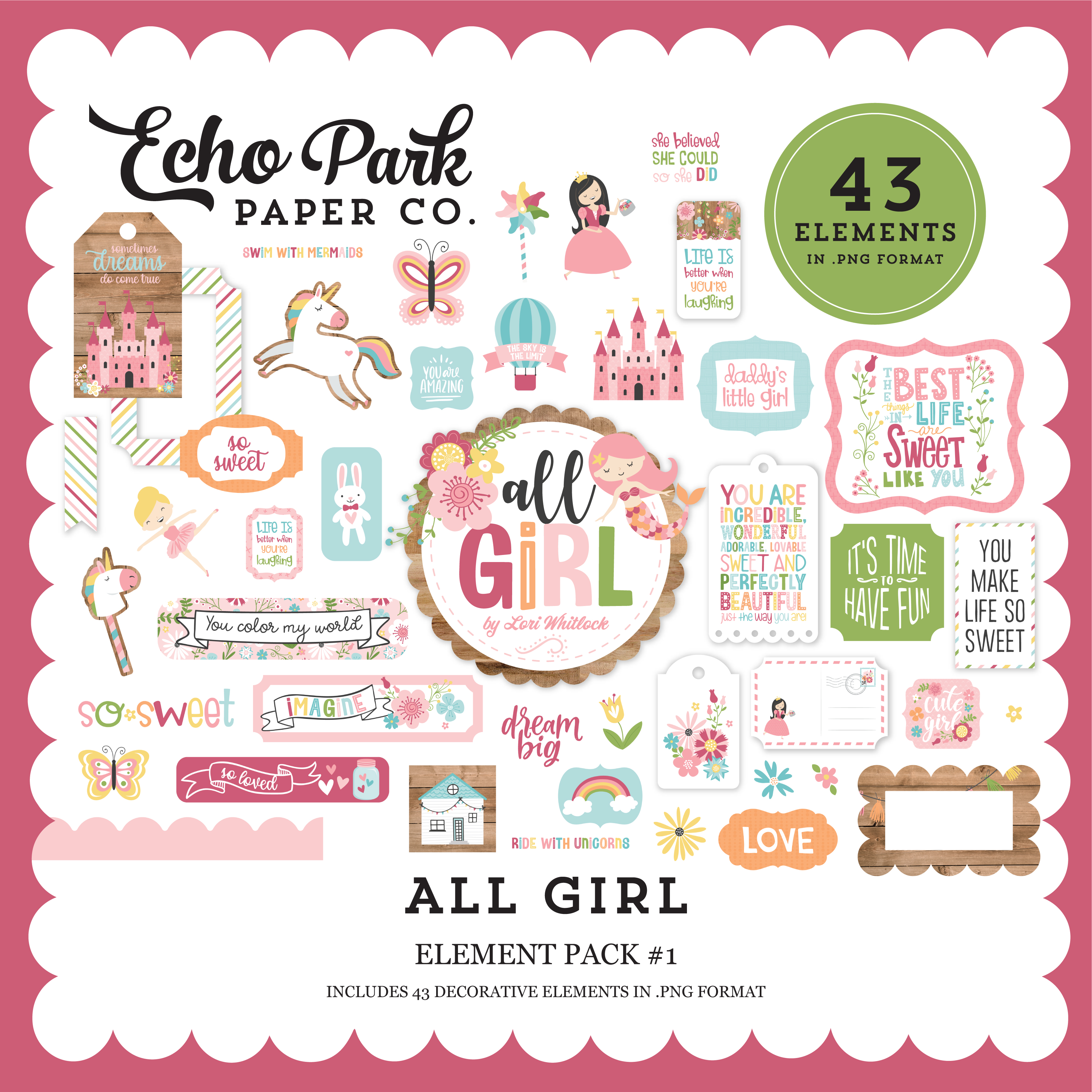 All Girl Element Pack #1