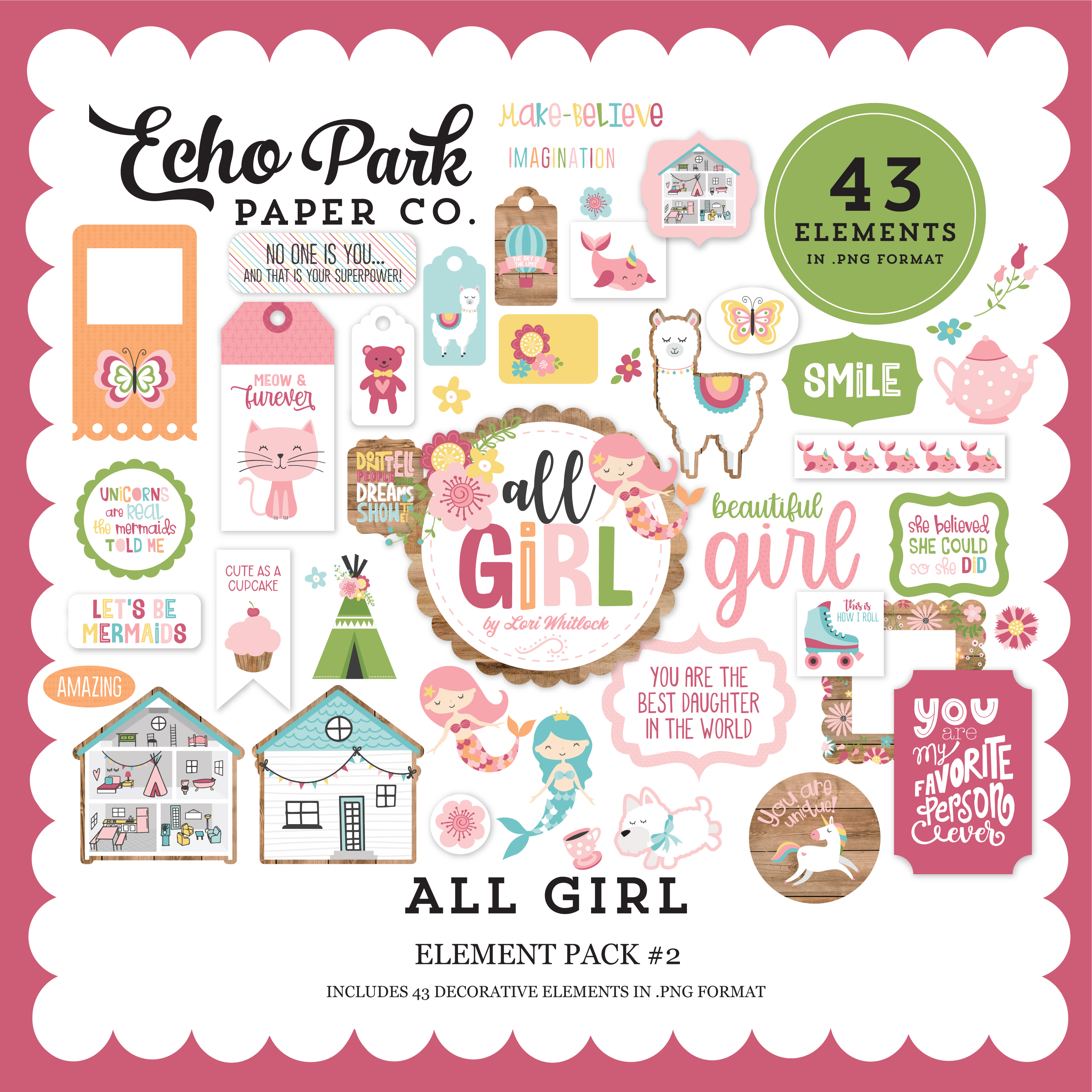 All Girl Element Pack #2