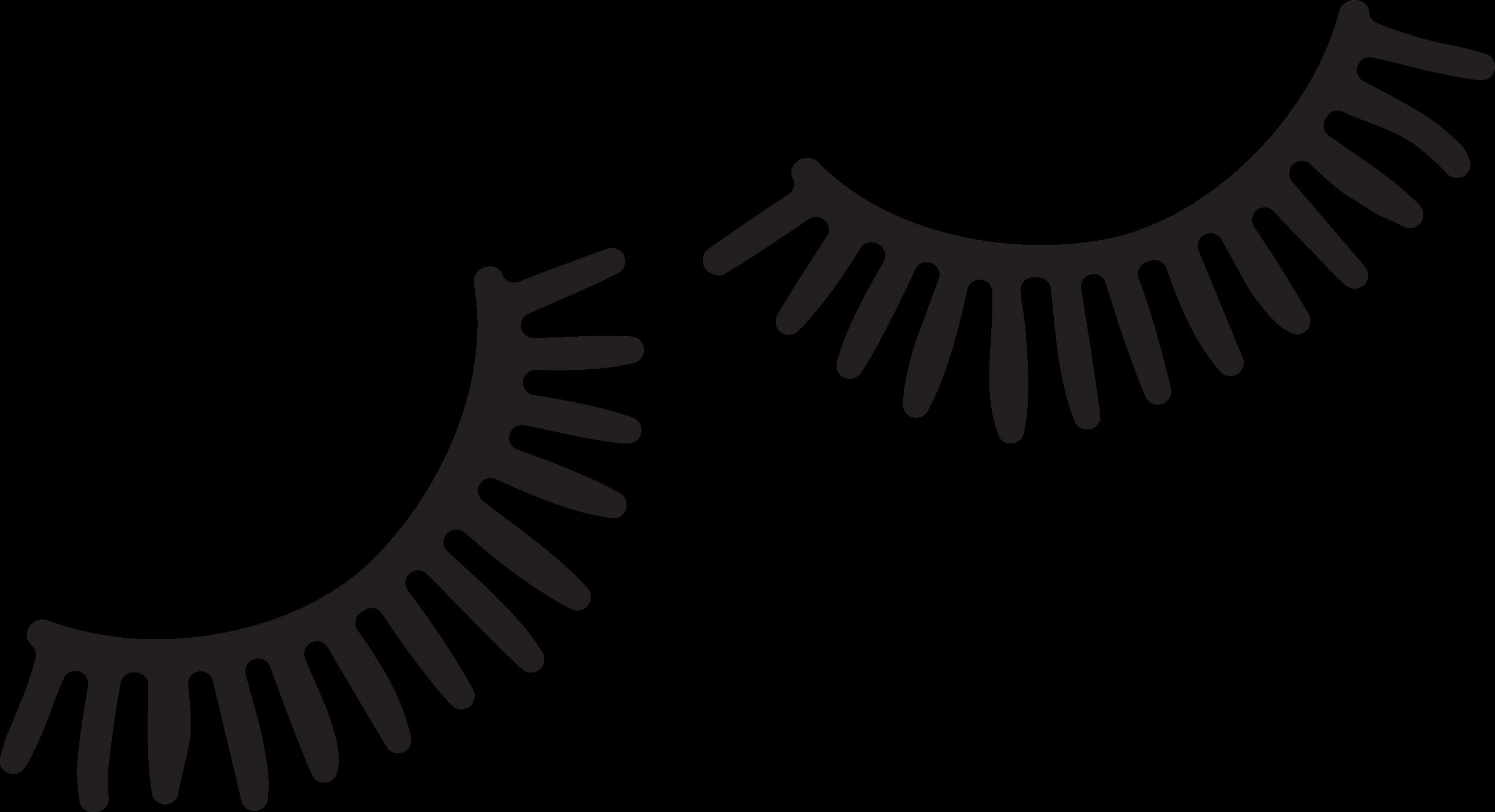 Eyelashes #2 SVG Cut File