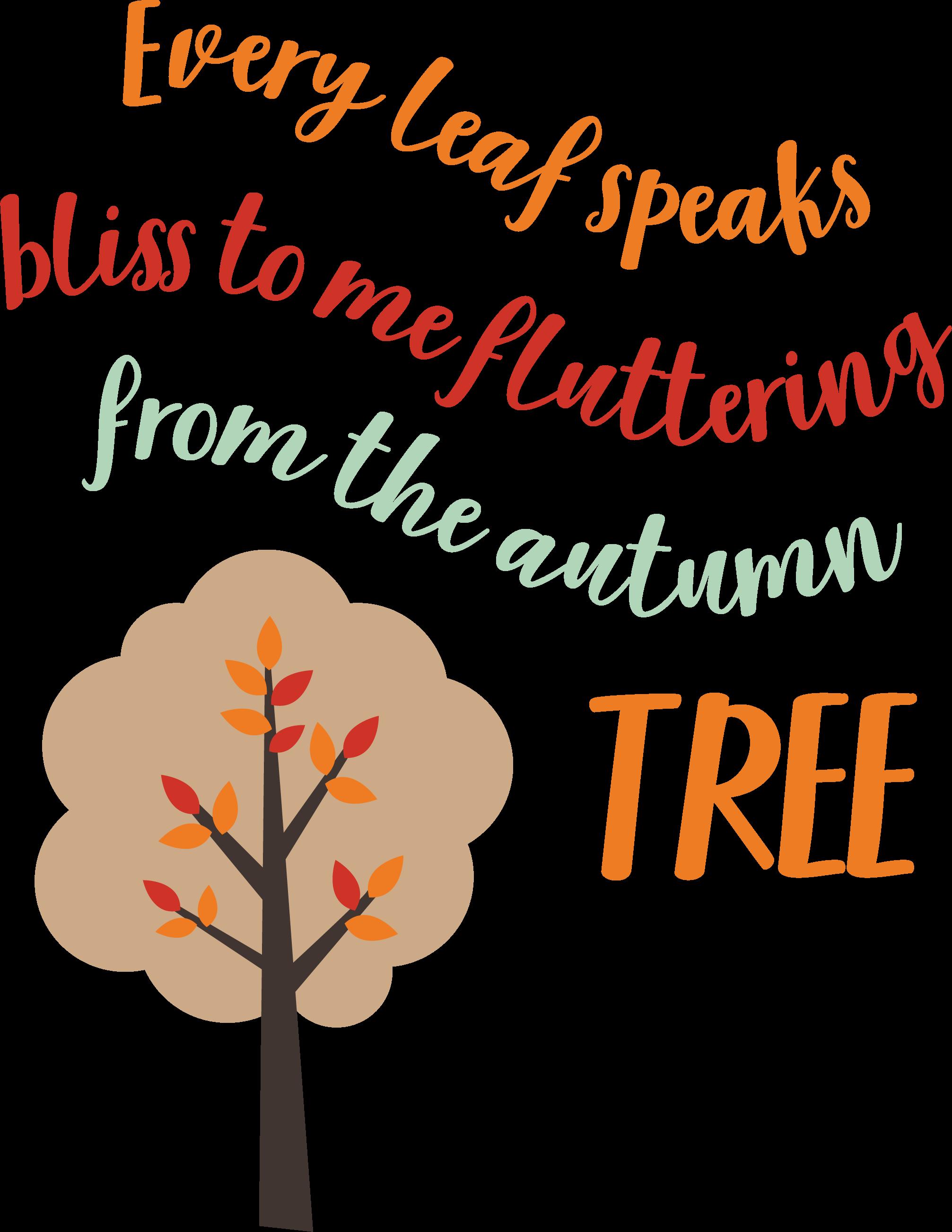 Every Leaf Speaks SVG Cut File